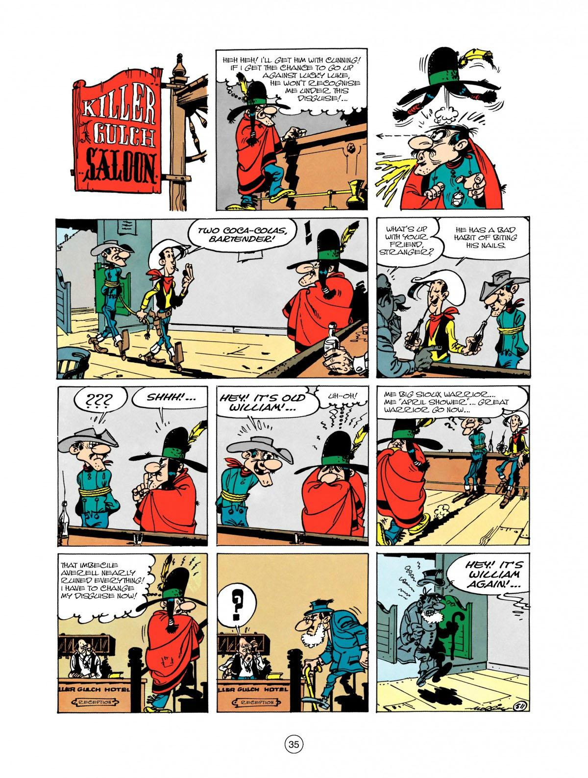 Read online A Lucky Luke Adventure comic -  Issue #28 - 36