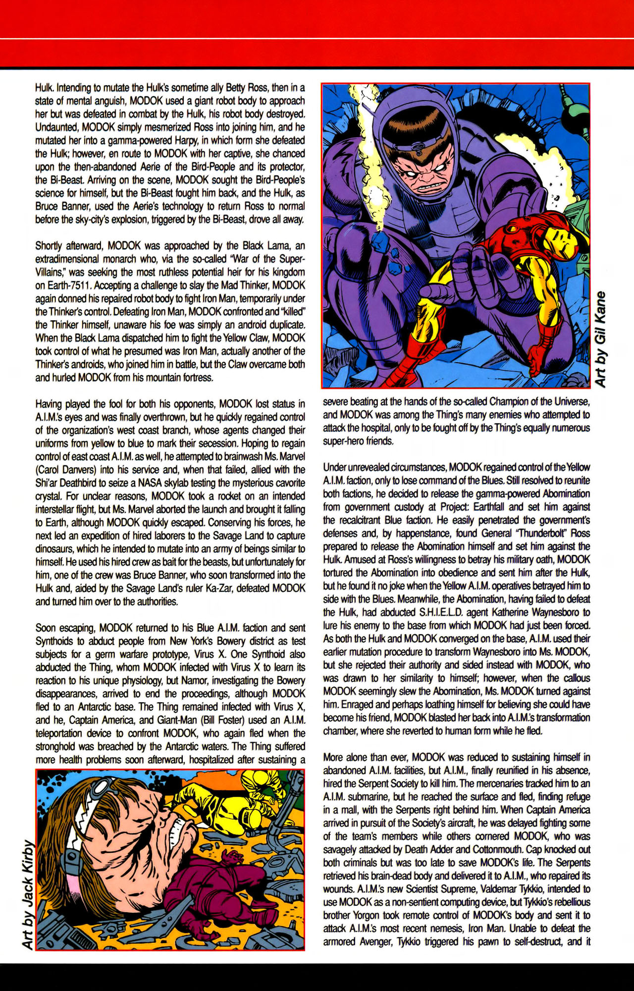 Read online All-New Official Handbook of the Marvel Universe A to Z comic -  Issue #7 - 47