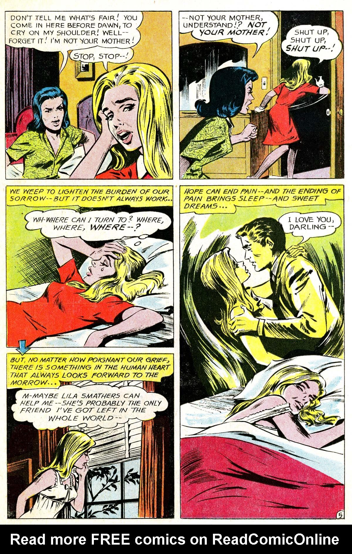 Read online Secret Hearts comic -  Issue #114 - 22