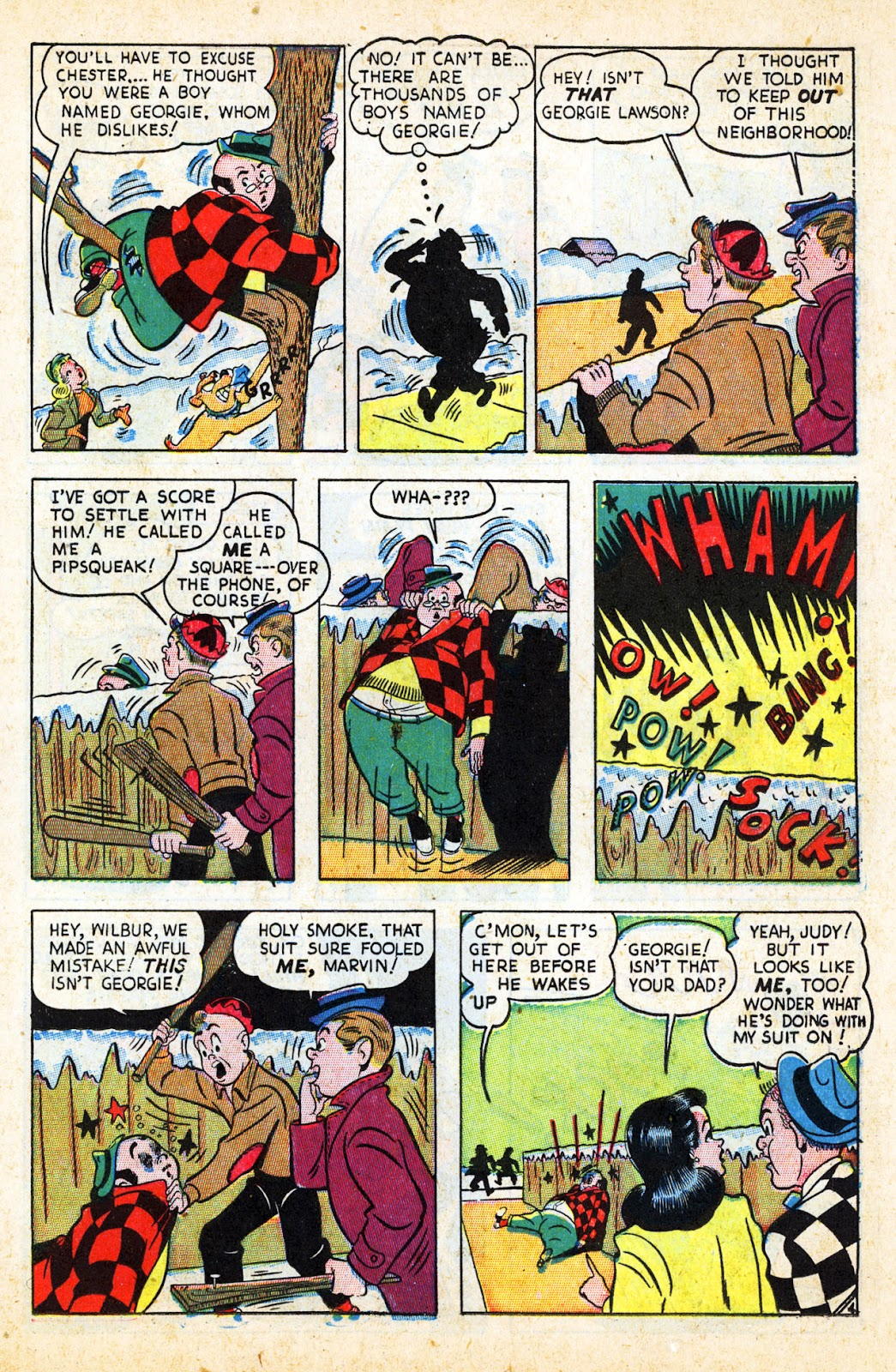 Georgie Comics (1945) issue 17 - Page 17