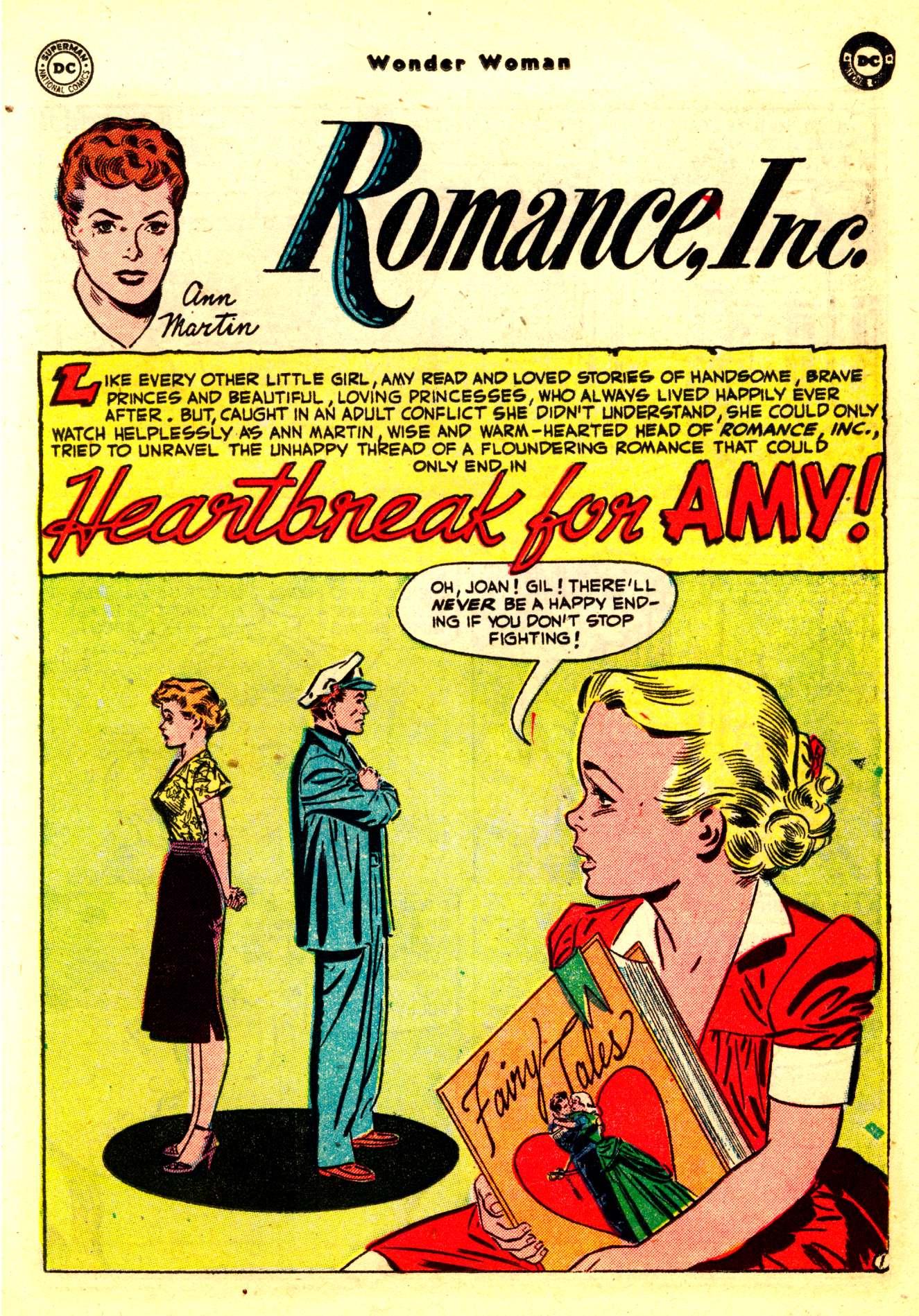 Read online Wonder Woman (1942) comic -  Issue #50 - 17