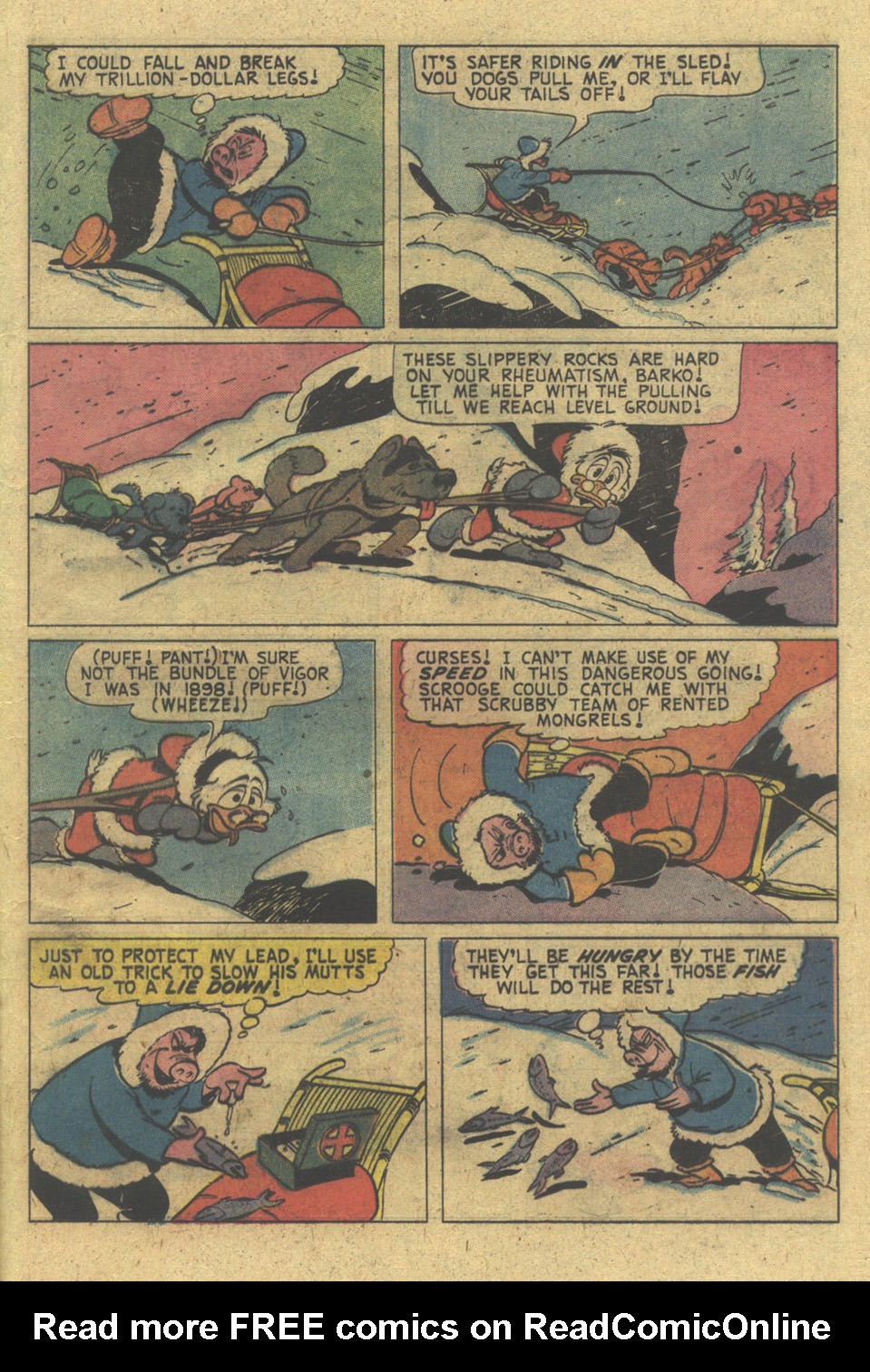 Read online Uncle Scrooge (1953) comic -  Issue #124 - 21