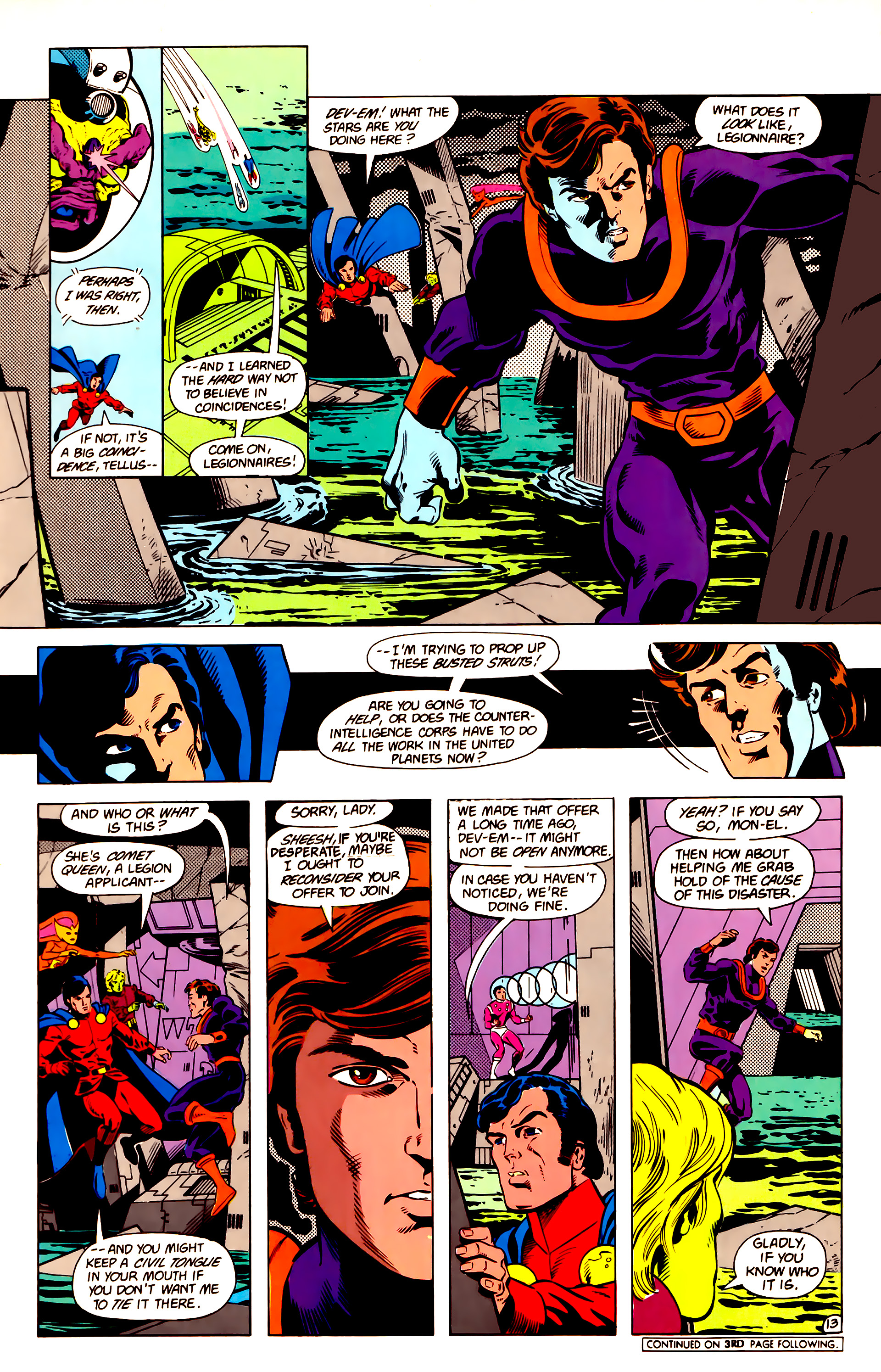 Legion of Super-Heroes (1984) 14 Page 14