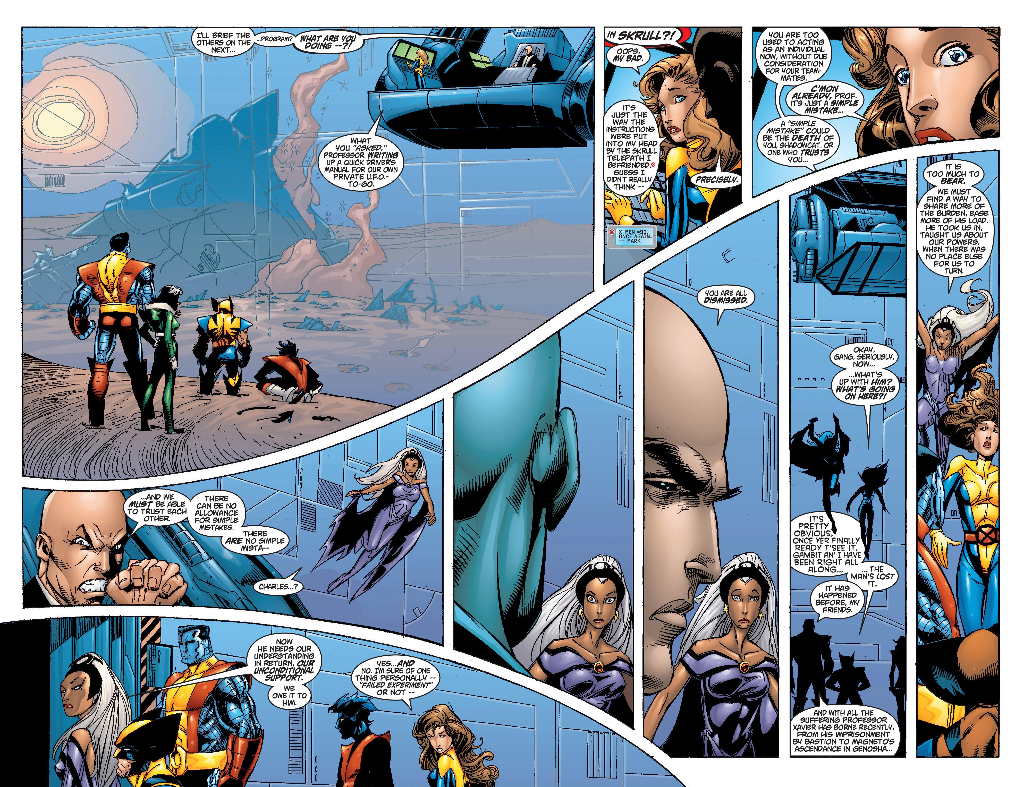 Read online Uncanny X-Men (1963) comic -  Issue #372 - 13