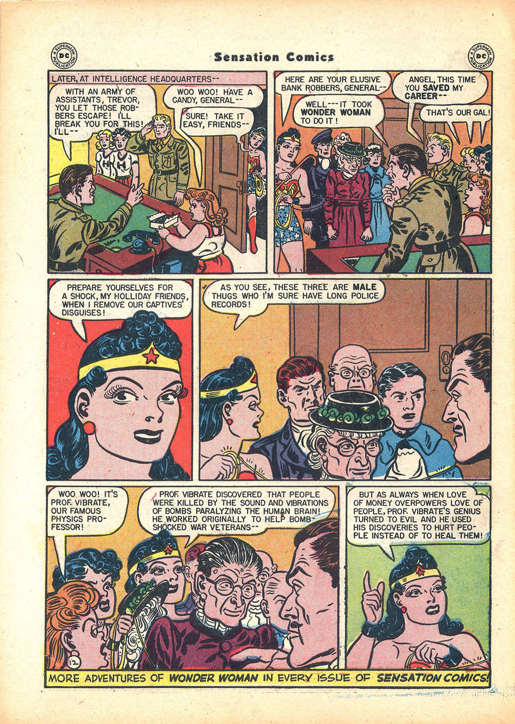 Read online Sensation (Mystery) Comics comic -  Issue #63 - 14
