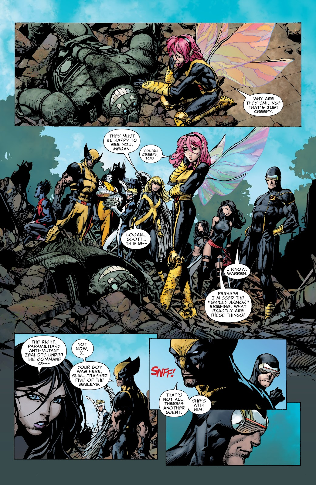 Read online X-Men: Second Coming comic -  Issue # _TPB (Part 1) - 32