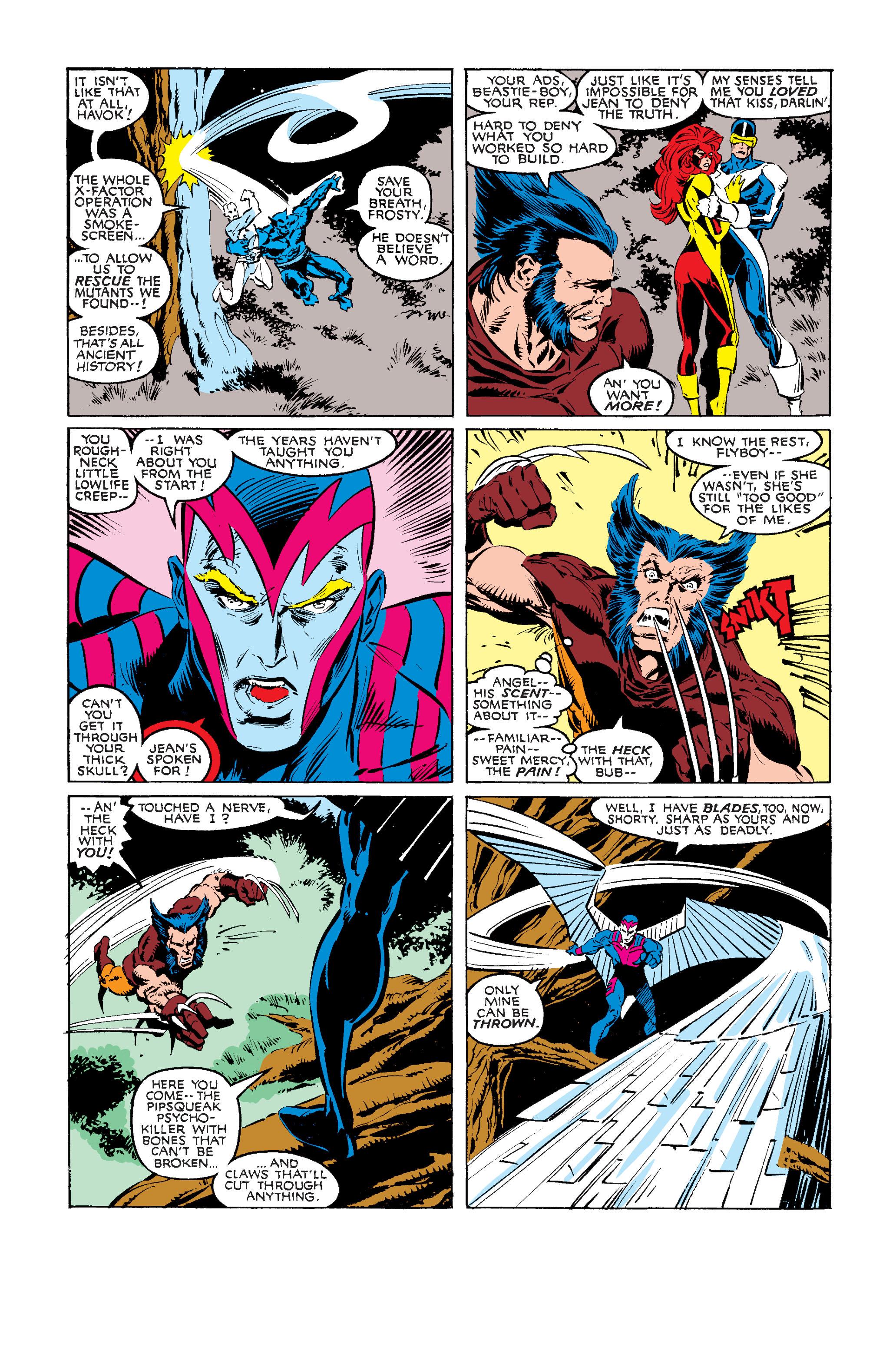 Read online Uncanny X-Men (1963) comic -  Issue #242 - 5