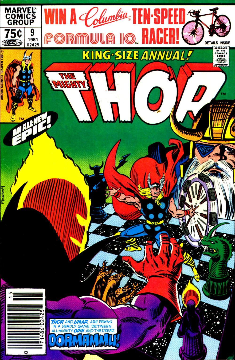 Thor (1966) _Annual_9 Page 1