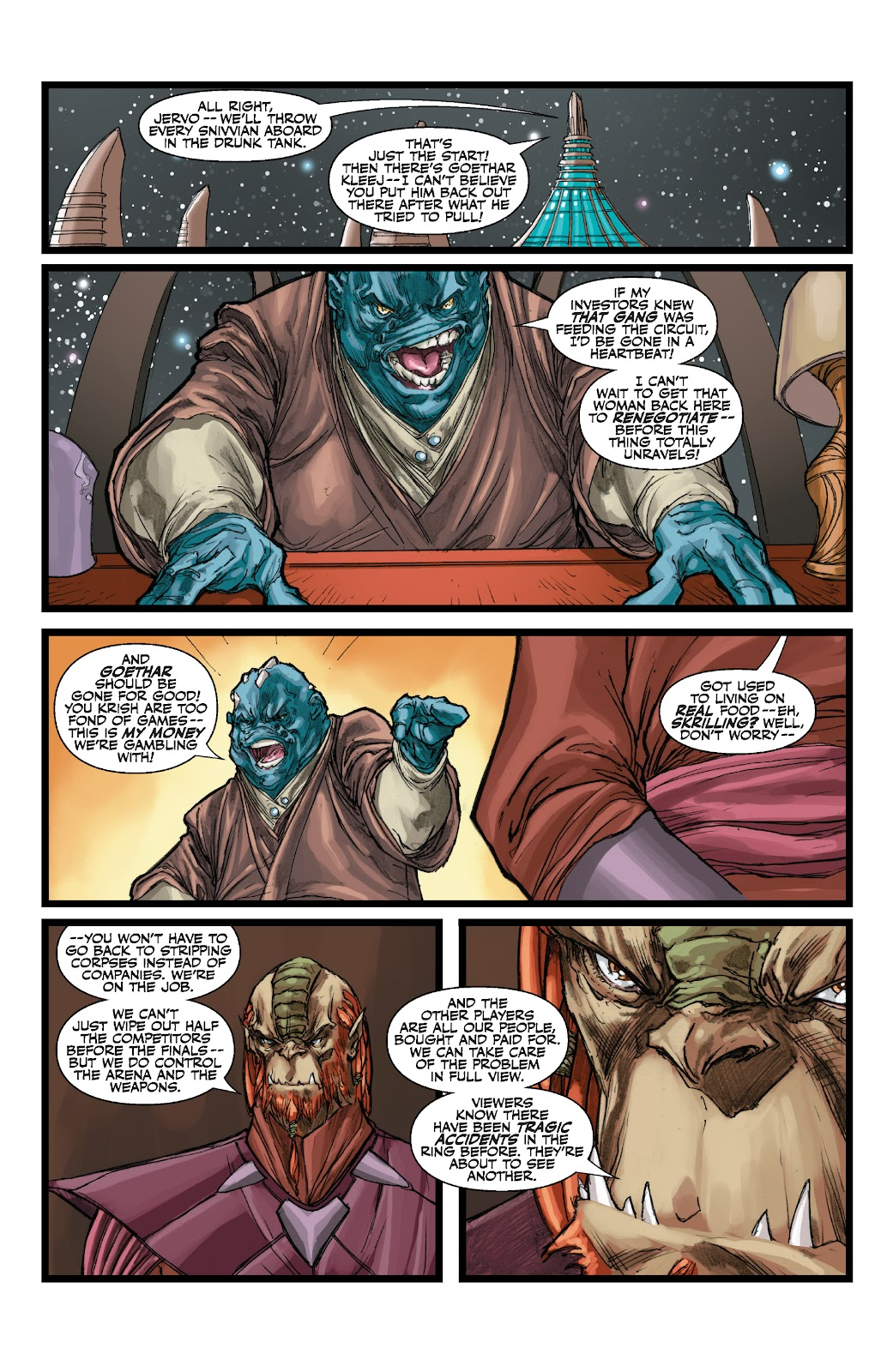 Read online Star Wars Legends: The Old Republic - Epic Collection comic -  Issue # TPB 3 (Part 1) - 74