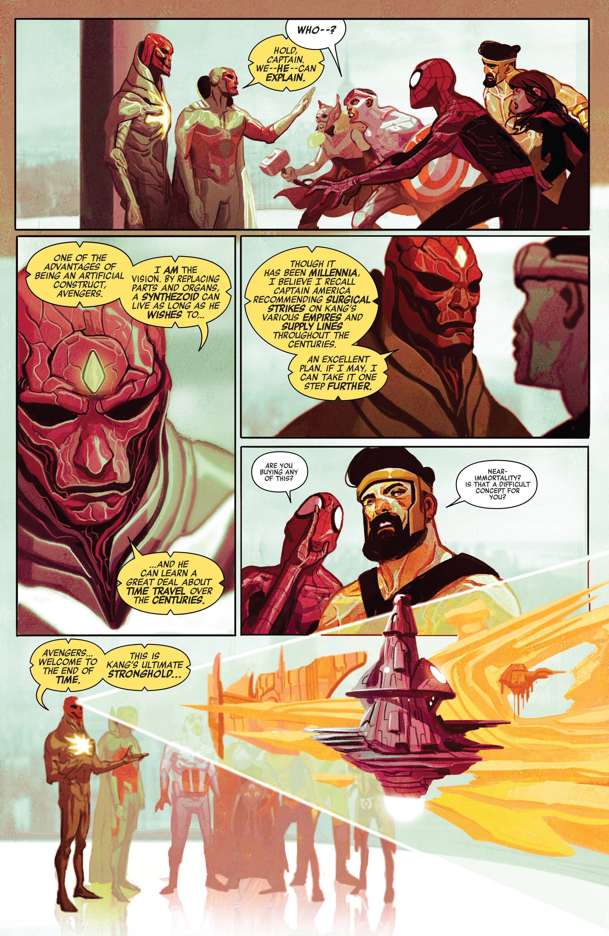 Read online Avengers (2016) comic -  Issue #5 - 5