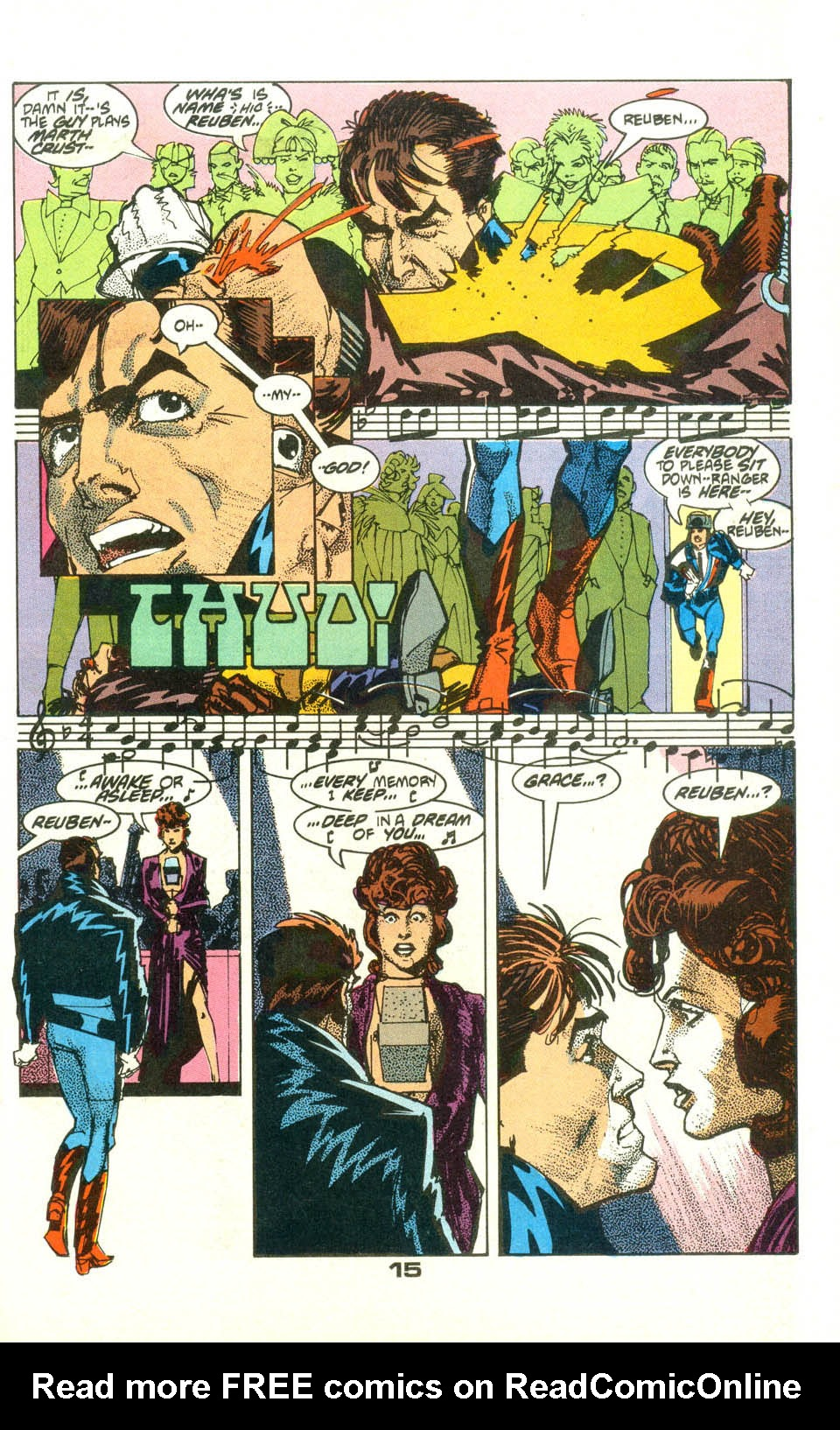 Read online American Flagg! comic -  Issue #23 - 17