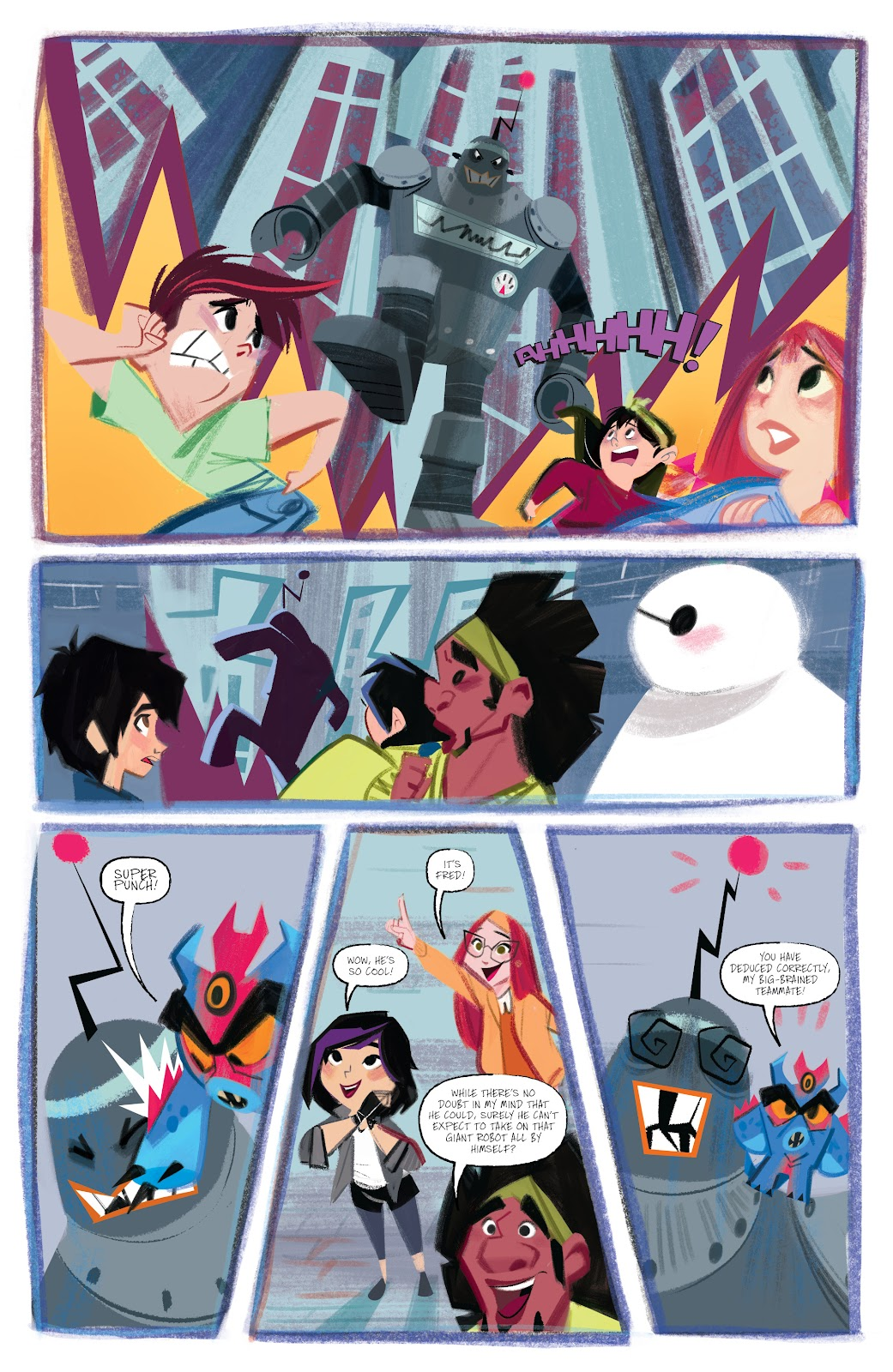 Read online Big Hero 6: The Series comic -  Issue #1 - 8