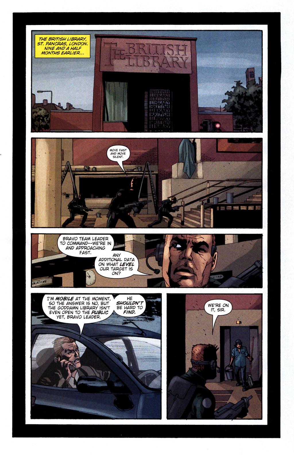 Read online Sleeper: Season Two comic -  Issue #5 - 10