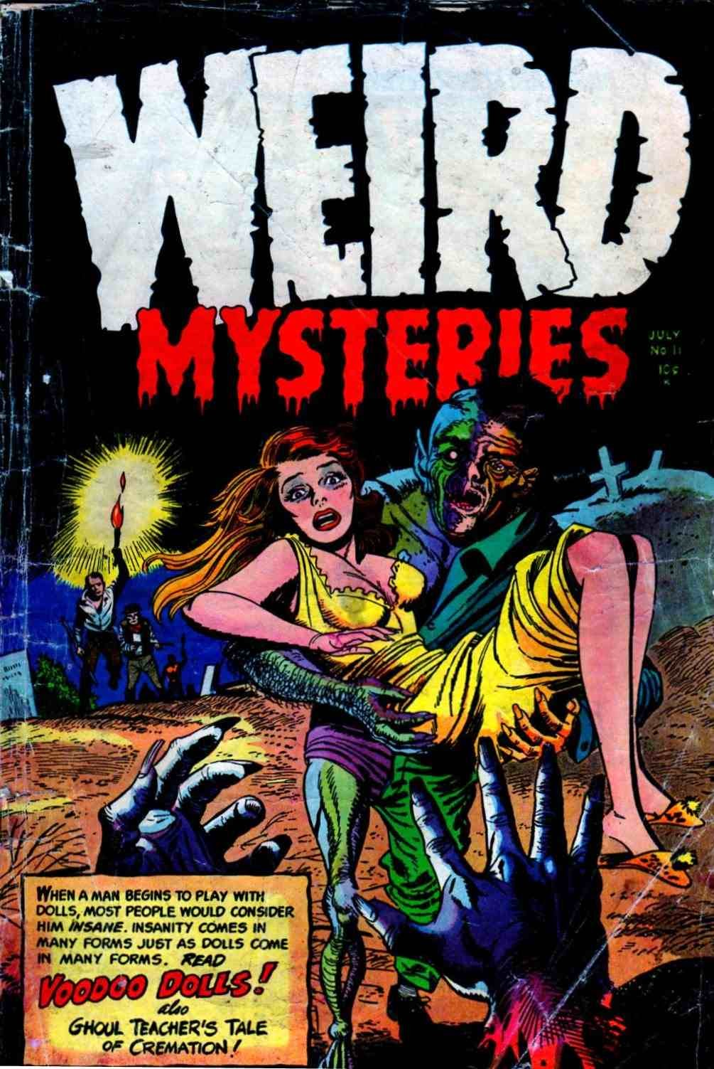 Weird Mysteries (1952) 11 Page 1