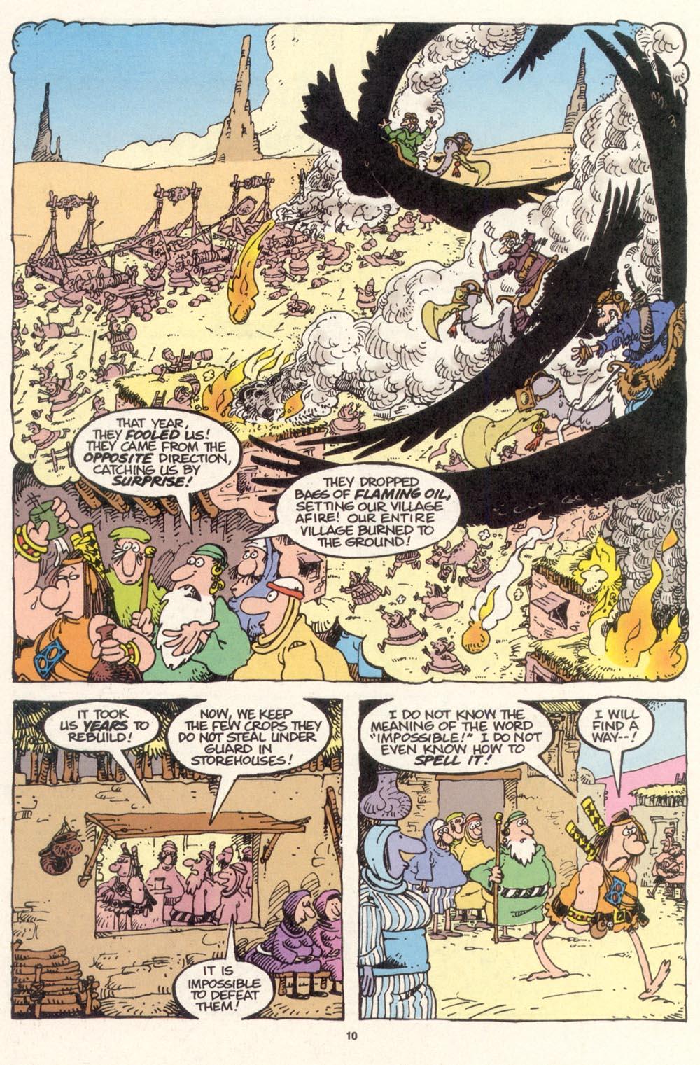 Read online Sergio Aragonés Groo the Wanderer comic -  Issue #115 - 12
