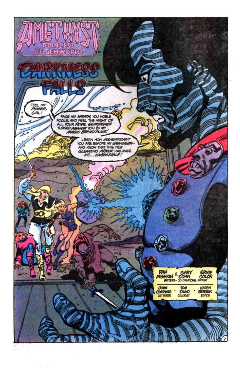 Read online Amethyst, Princess of Gemworld comic -  Issue #12 - 3