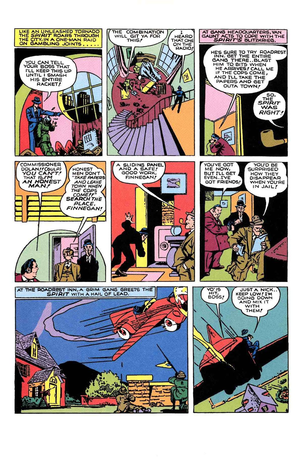 Read online Will Eisner's The Spirit Archives comic -  Issue # TPB 1 (Part 2) - 19