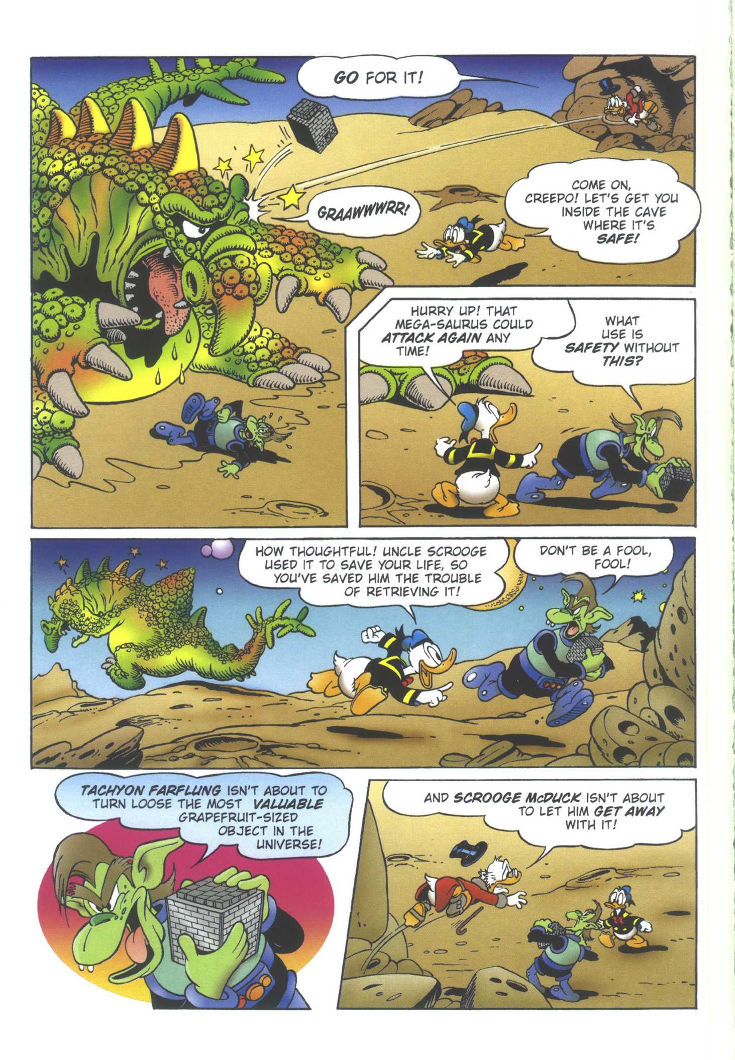 Read online Uncle Scrooge (1953) comic -  Issue #358 - 64