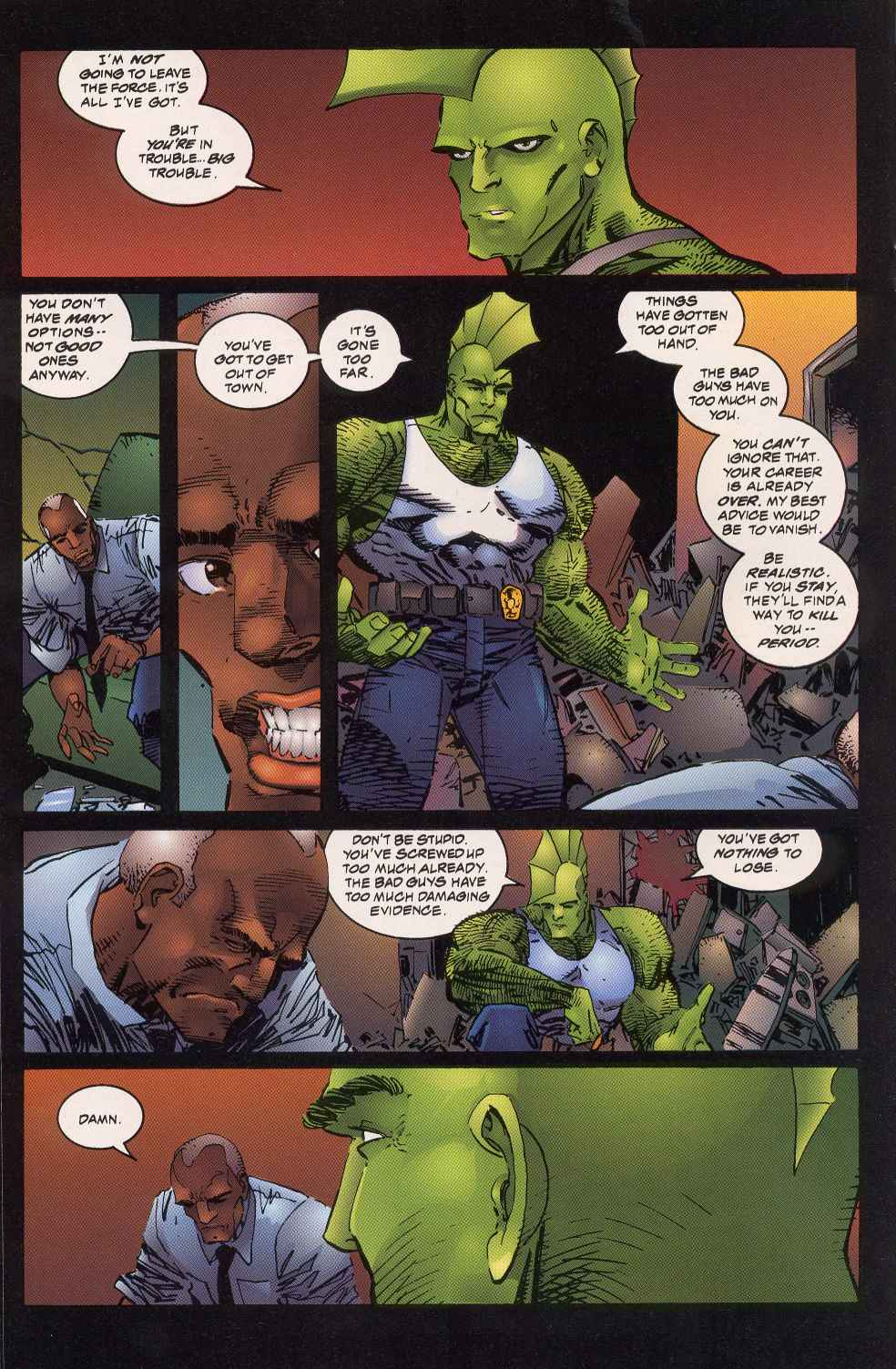The Savage Dragon (1993) Issue #5 #7 - English 16