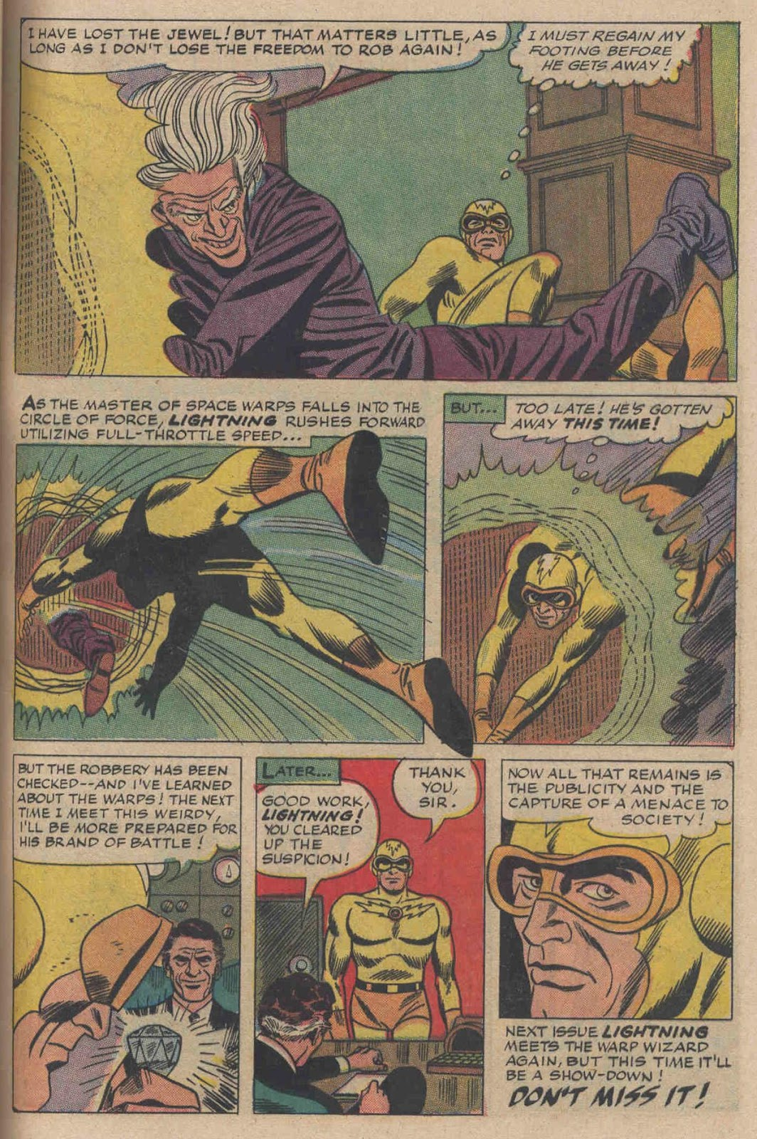 T.H.U.N.D.E.R. Agents (1965) issue 6 - Page 31