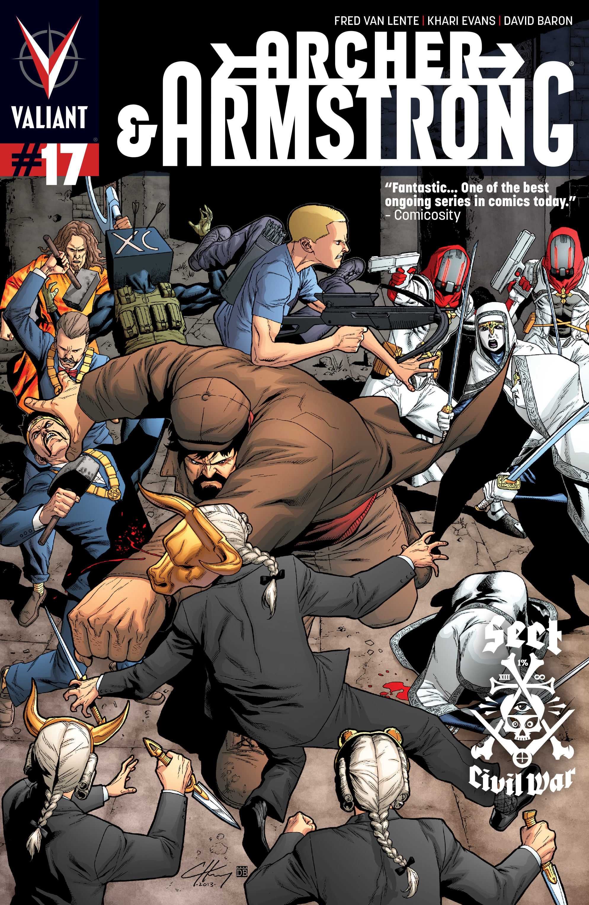 Read online Archer and Armstrong comic -  Issue #Archer and Armstrong _TPB 4 - 76