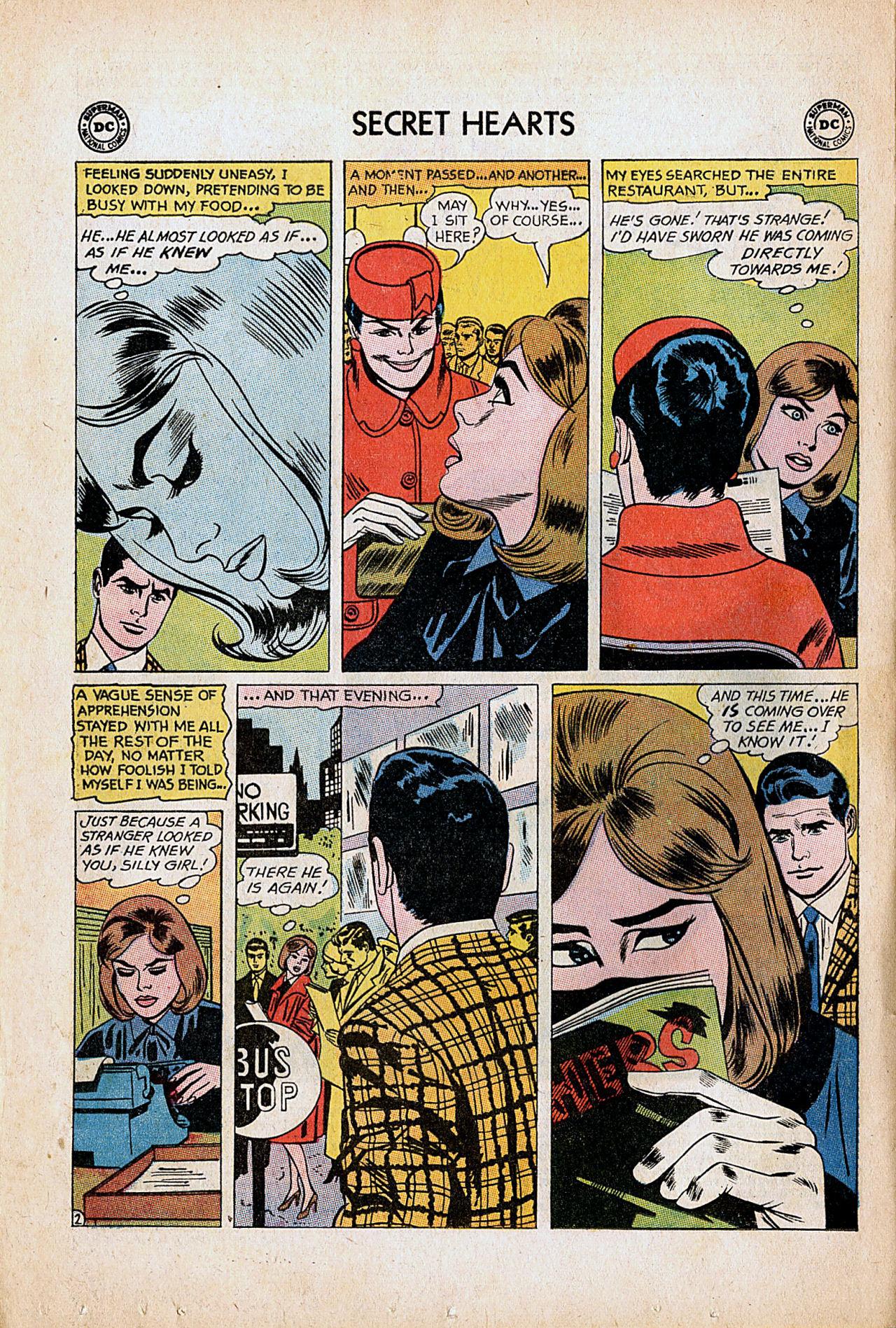 Read online Secret Hearts comic -  Issue #86 - 4