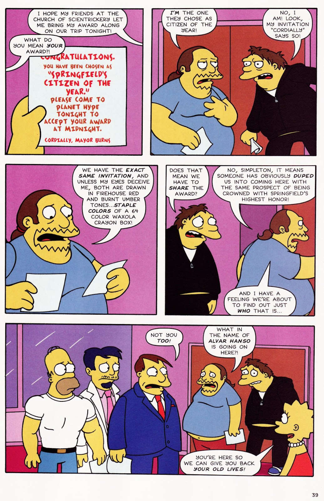 Read online The Simpsons Winter Wingding comic -  Issue #2 - 40