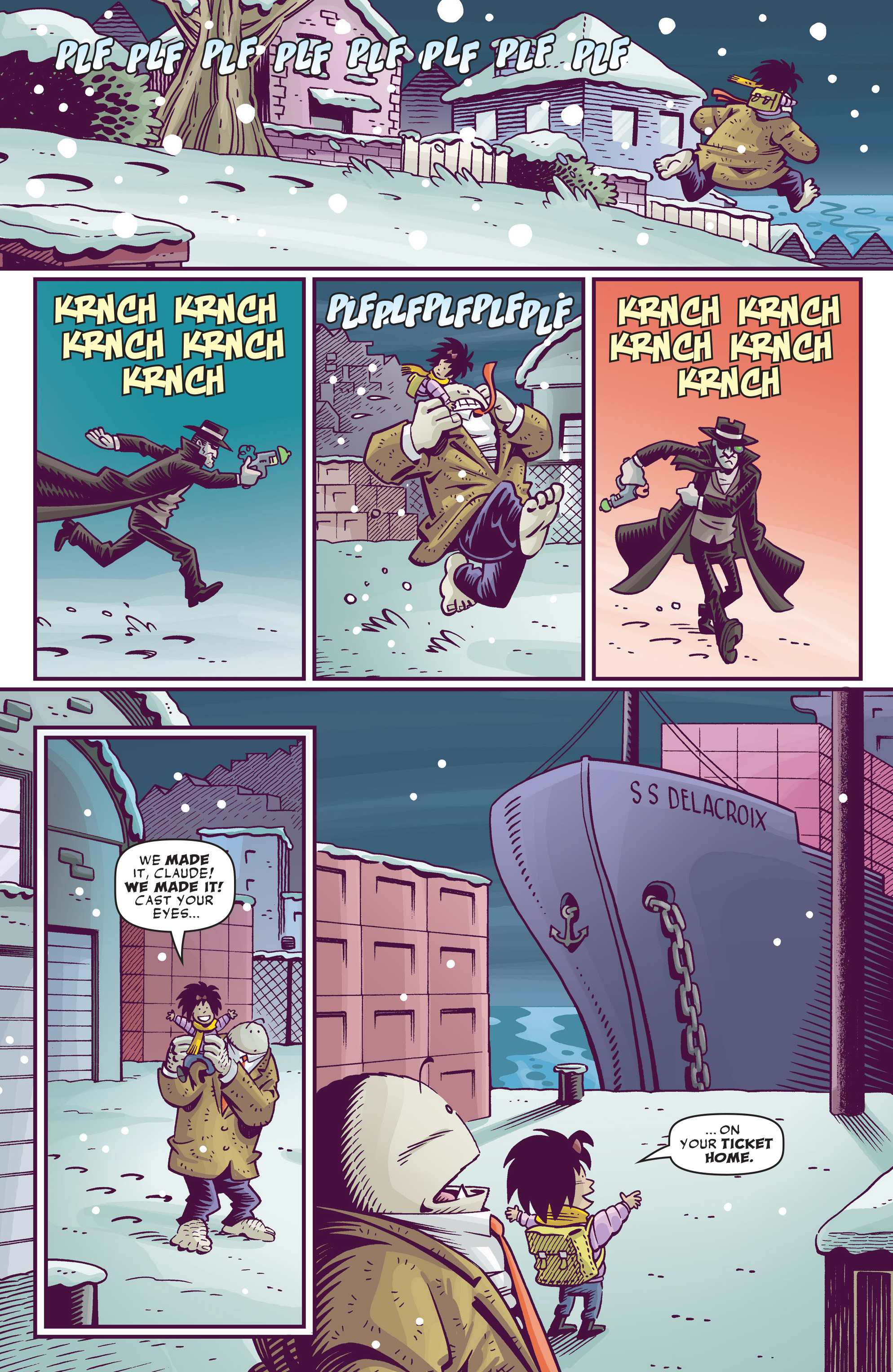 Read online Abigail And The Snowman comic -  Issue #4 - 17