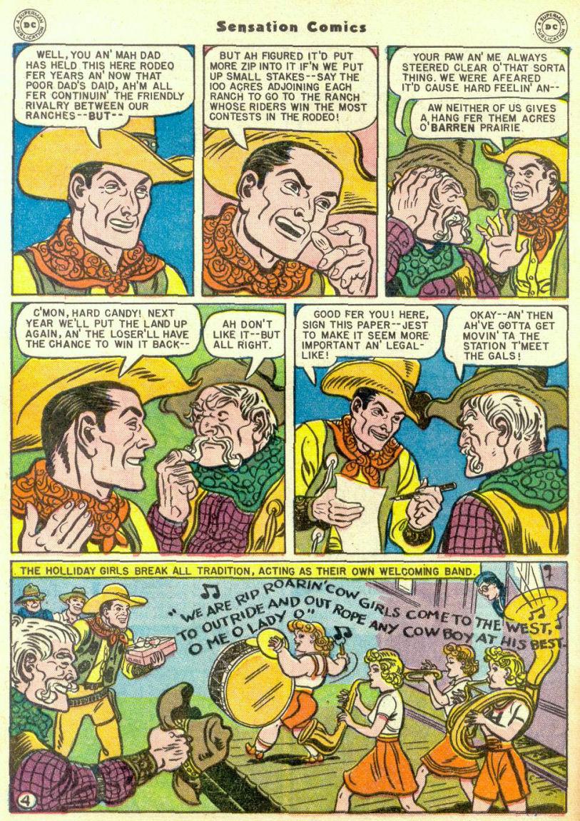 Read online Sensation (Mystery) Comics comic -  Issue #67 - 6