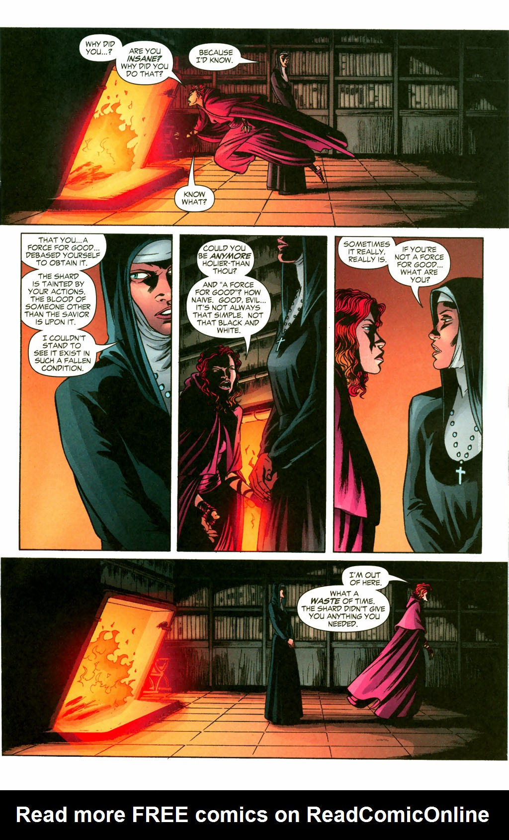 Read online Fallen Angel (2003) comic -  Issue #10 - 12