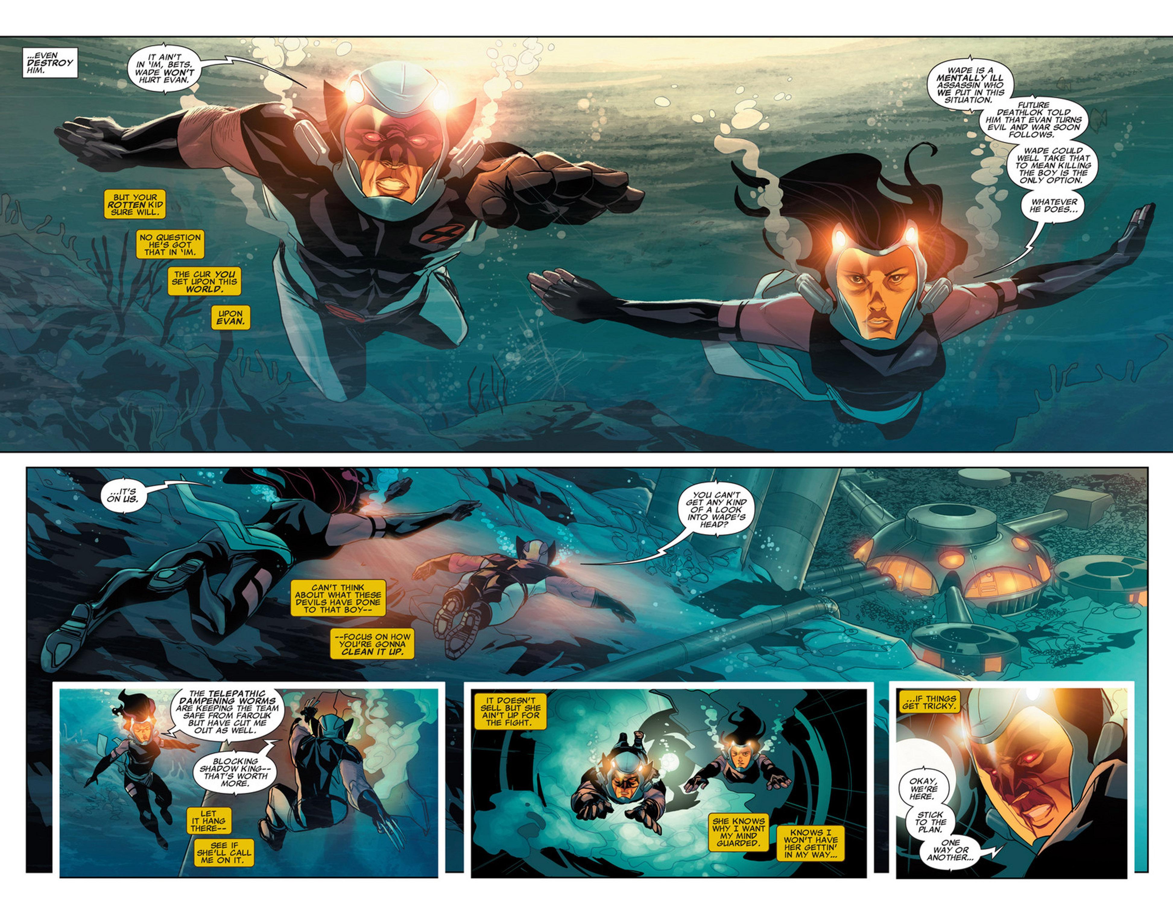 Uncanny X-Force (2010) #32 #34 - English 6