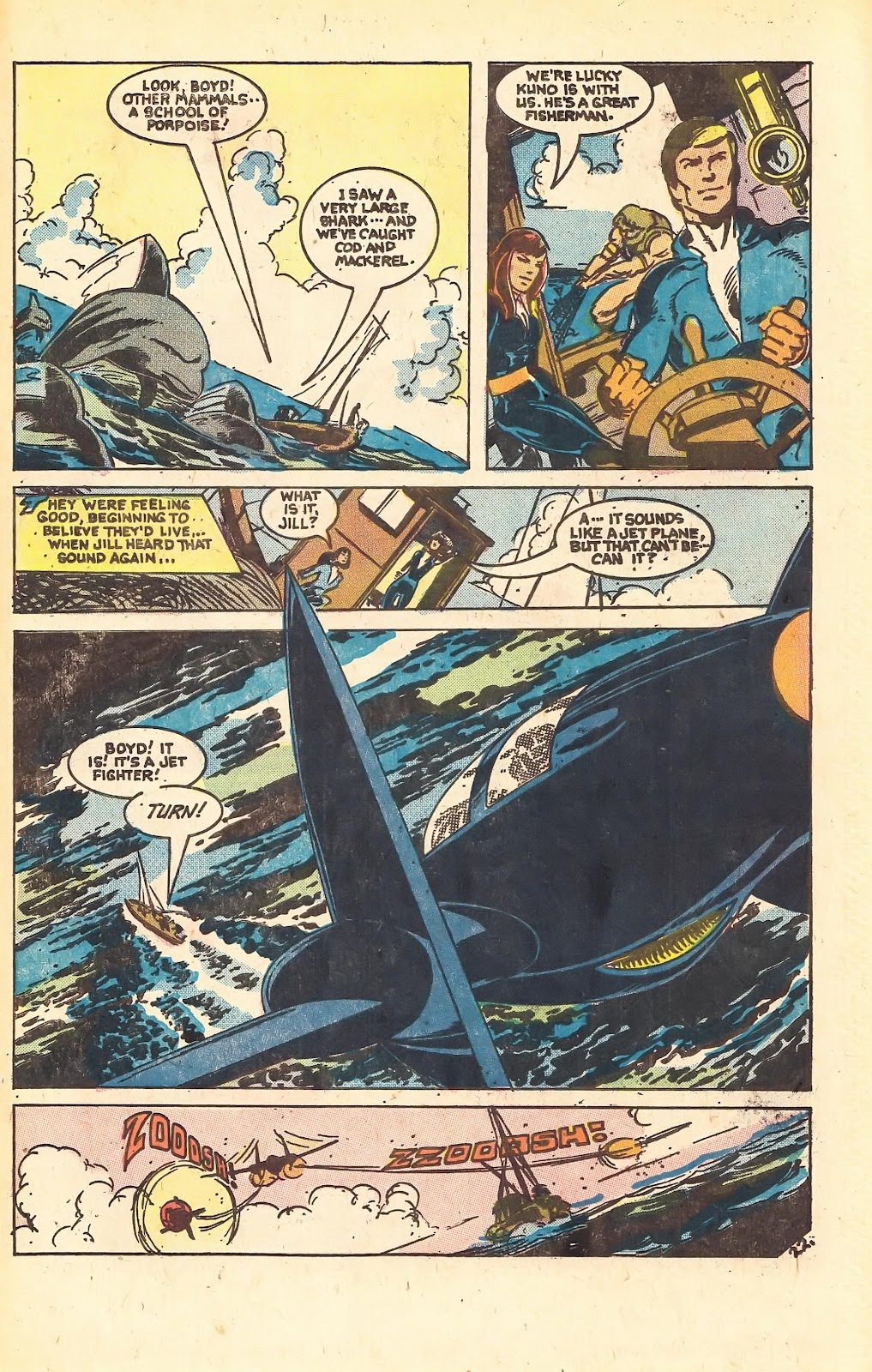 Read online Doomsday   1 (1975) comic -  Issue #1 - 31