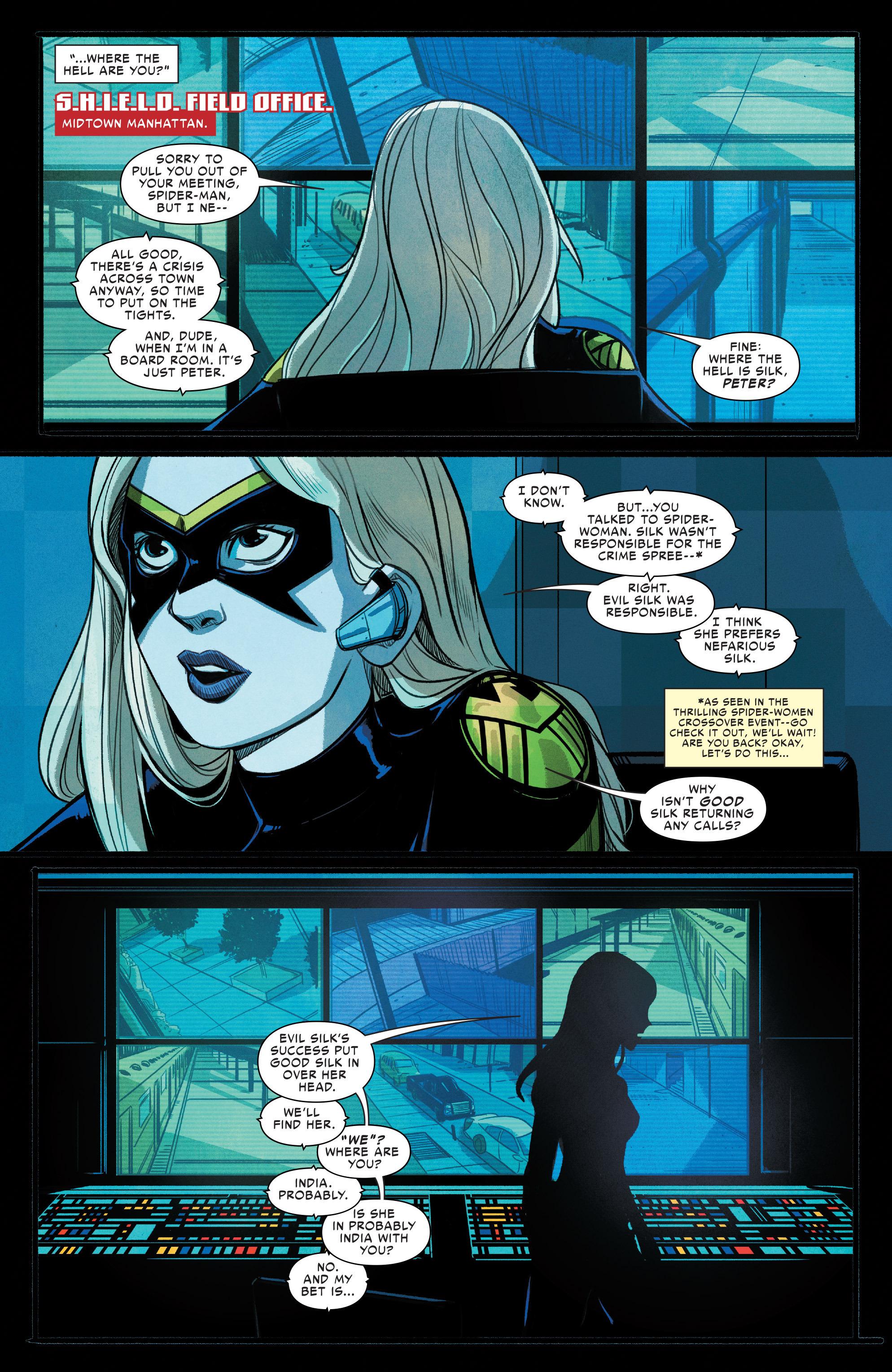 Read online Silk (2016) comic -  Issue #9 - 4