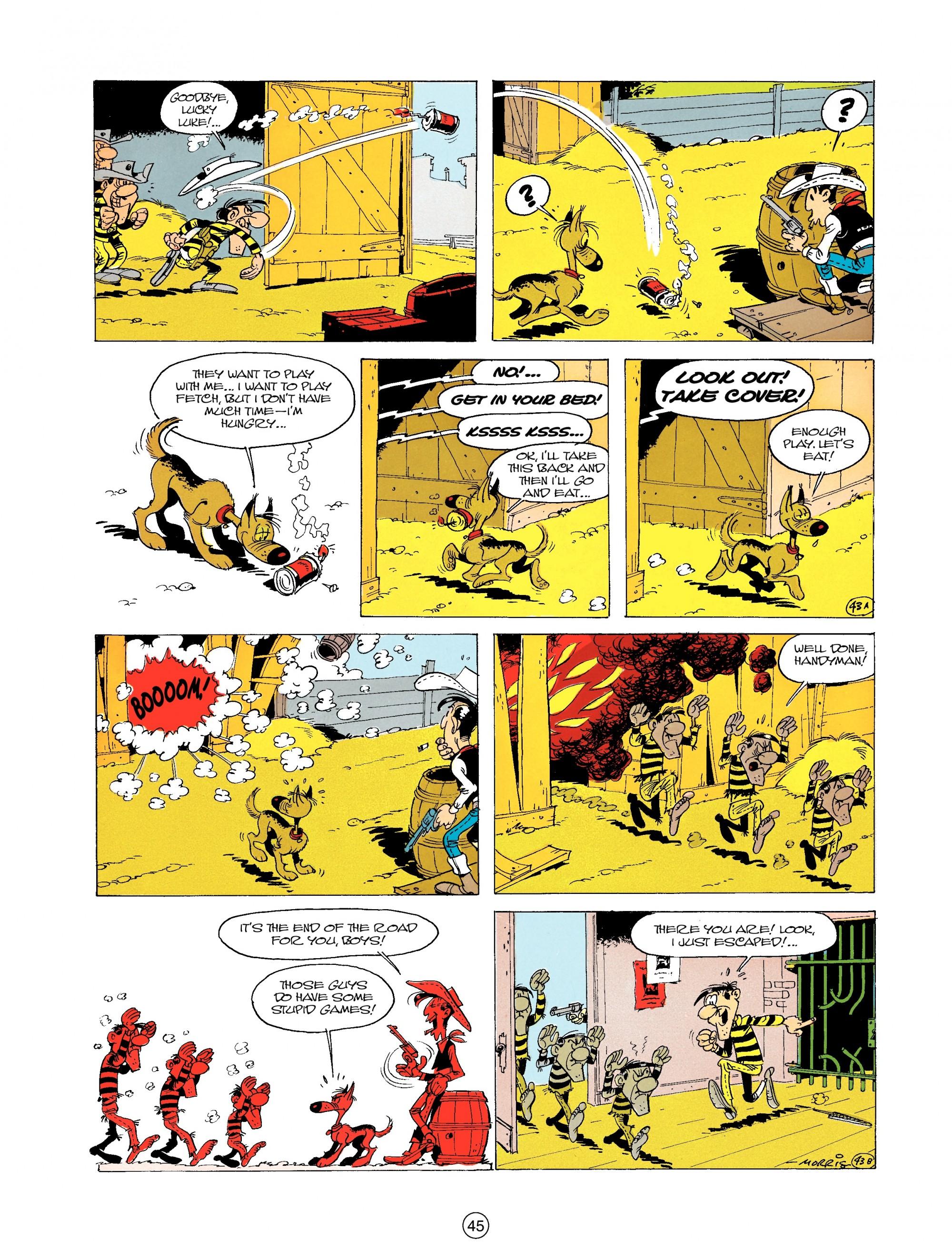 Read online A Lucky Luke Adventure comic -  Issue #19 - 45
