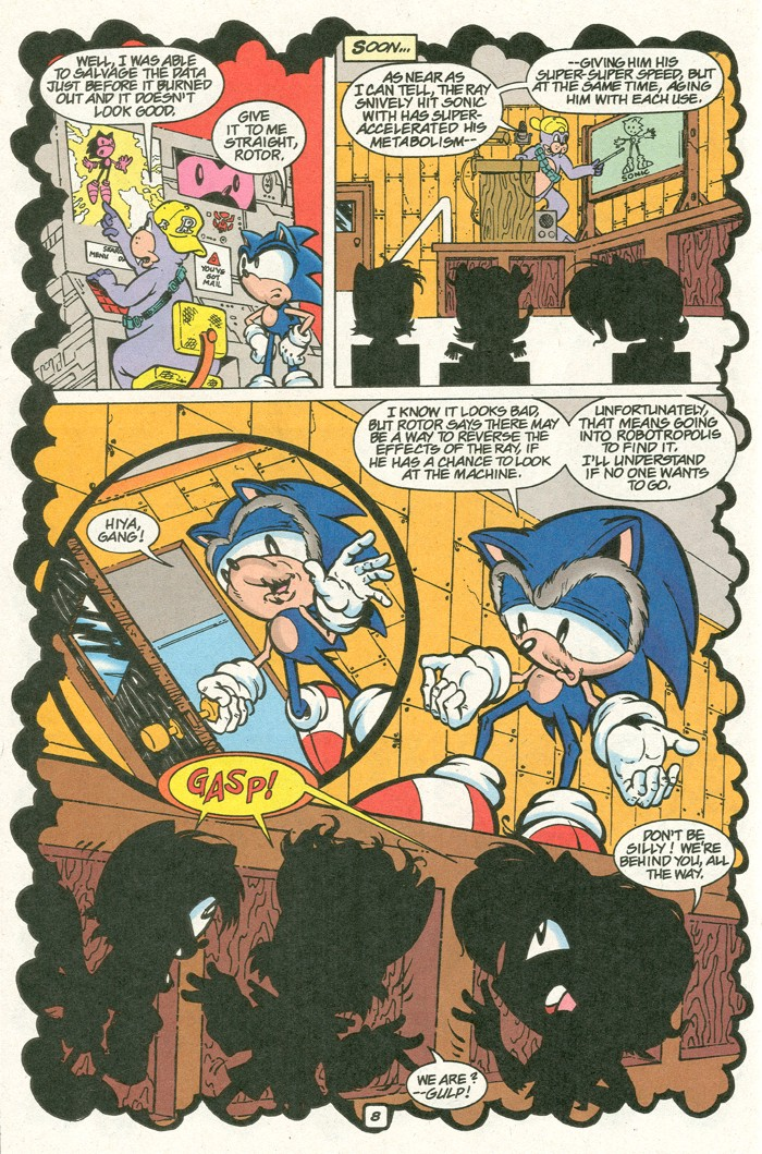 Read online Sonic Super Special comic -  Issue #8 - Giant special - 19
