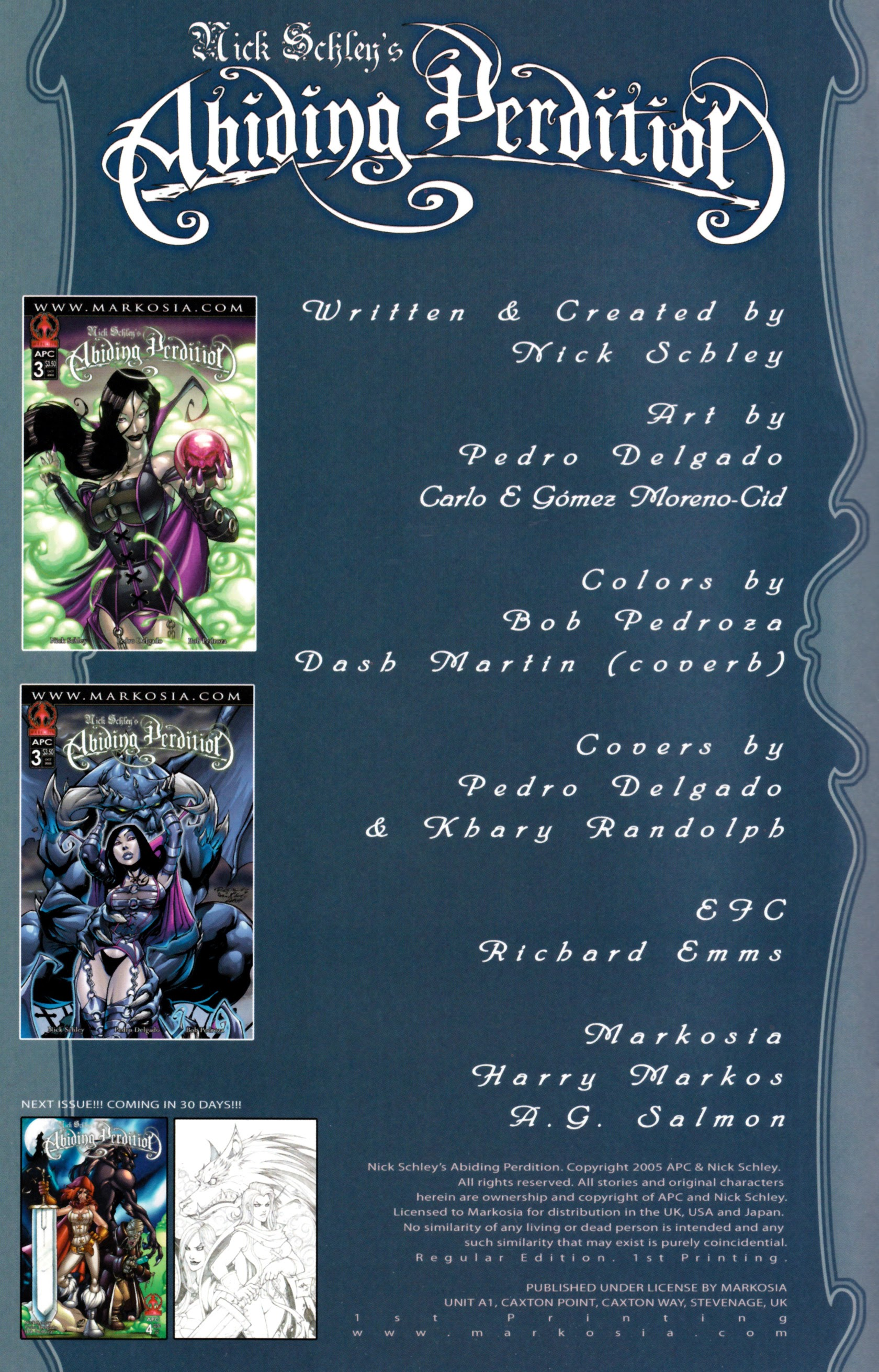 Read online Abiding Perdition comic -  Issue #3 - 3