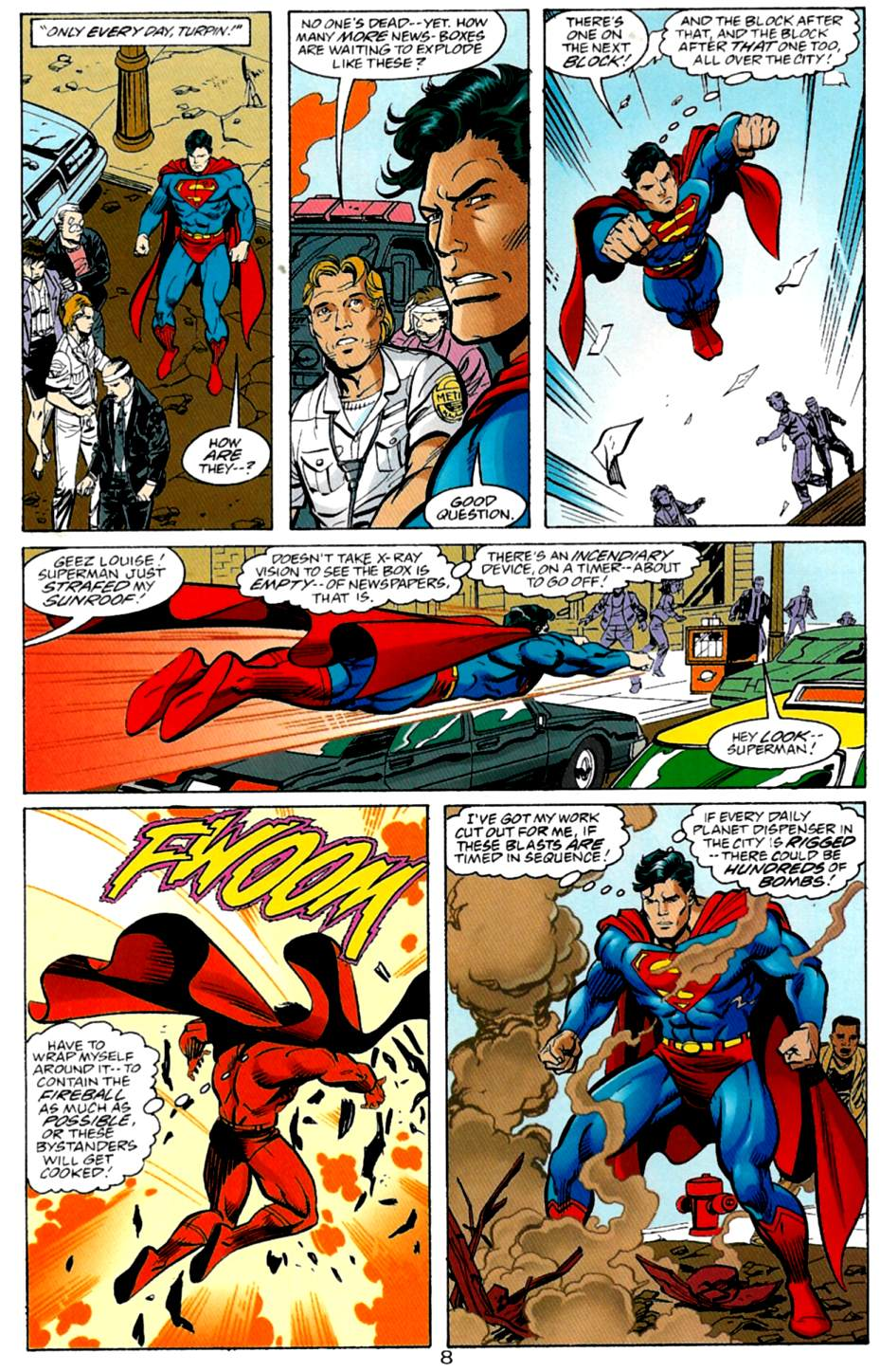 Read online Adventures of Superman (1987) comic -  Issue #562 - 9