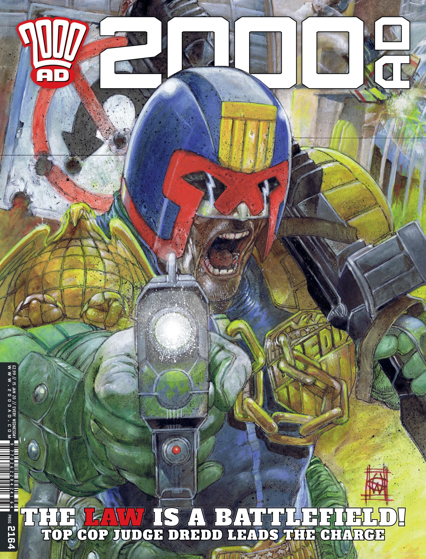 2000 AD 2164 Page 1