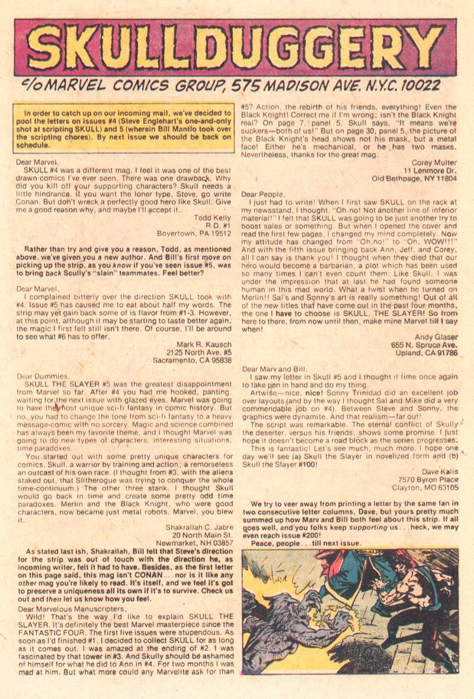 Read online Skull The Slayer comic -  Issue #7 - 19
