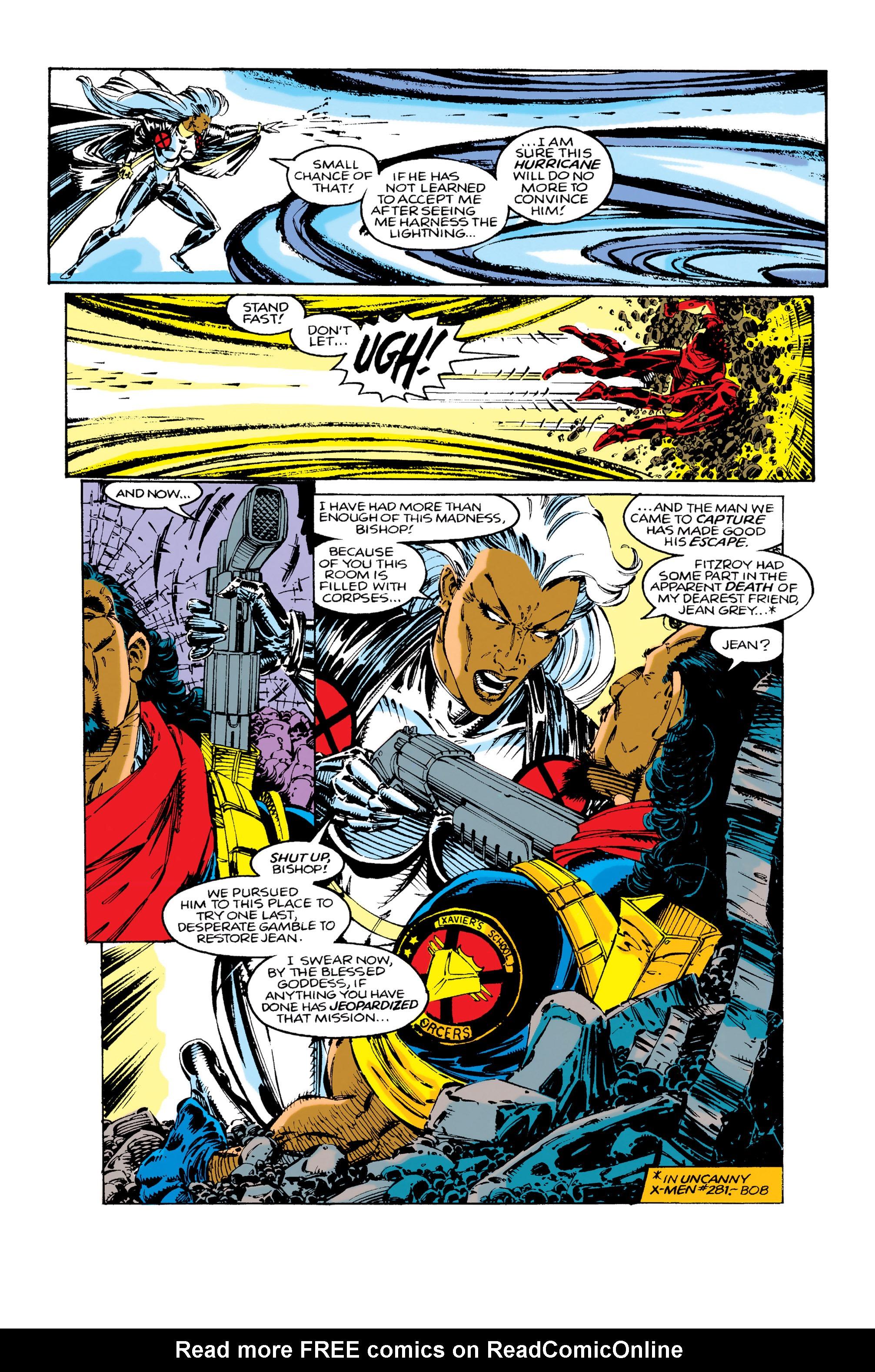 Read online Uncanny X-Men (1963) comic -  Issue #283 - 13