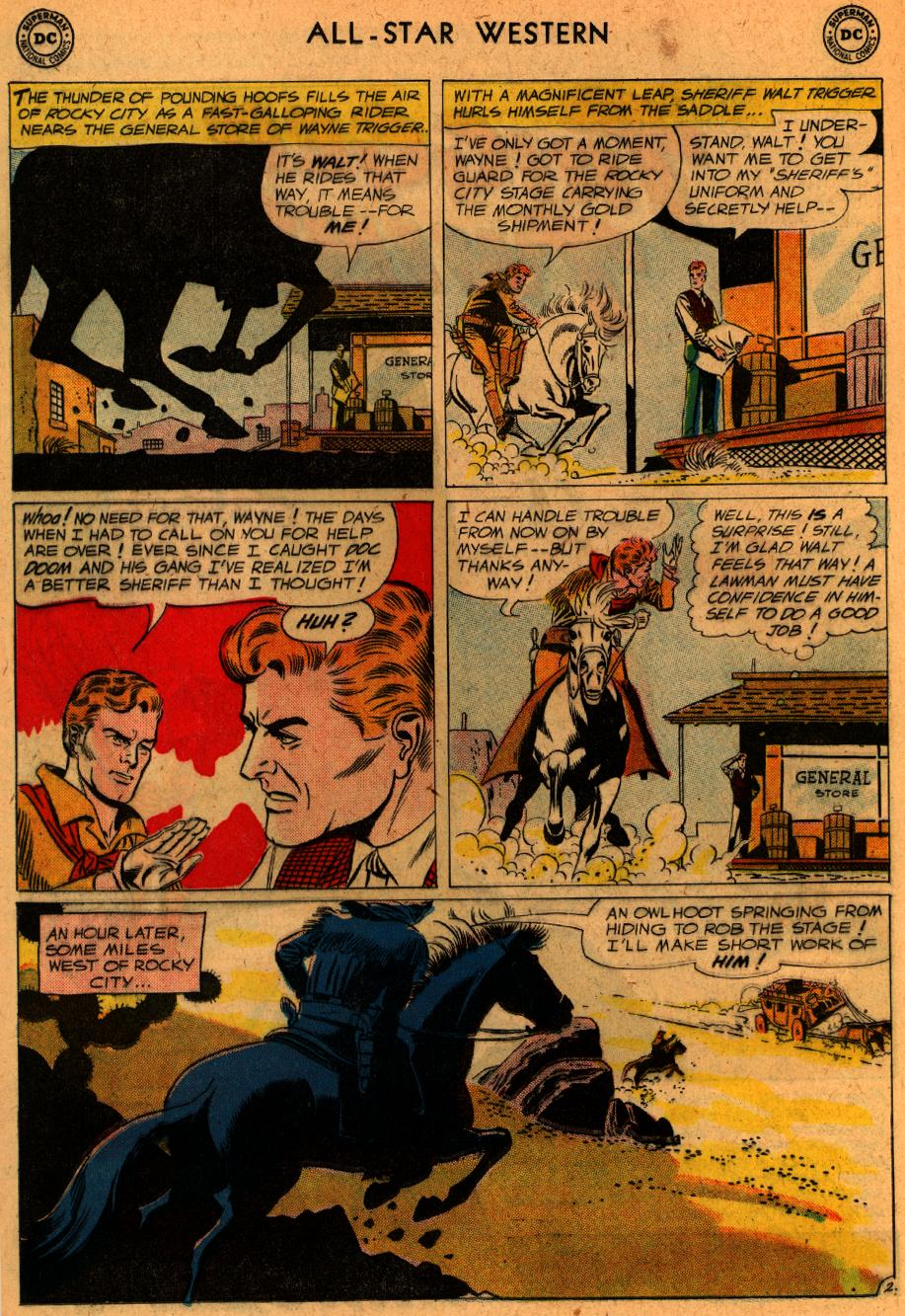 Read online All-Star Western (1951) comic -  Issue #107 - 27