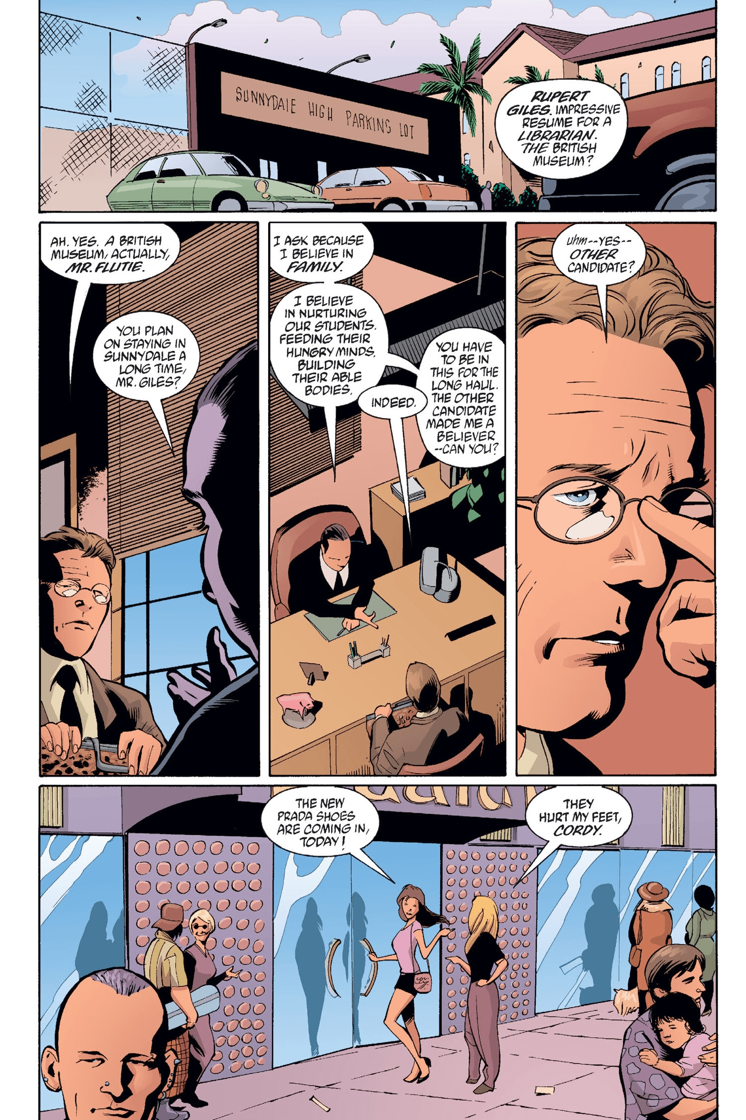 Read online Buffy the Vampire Slayer: Omnibus comic -  Issue # TPB 2 - 52