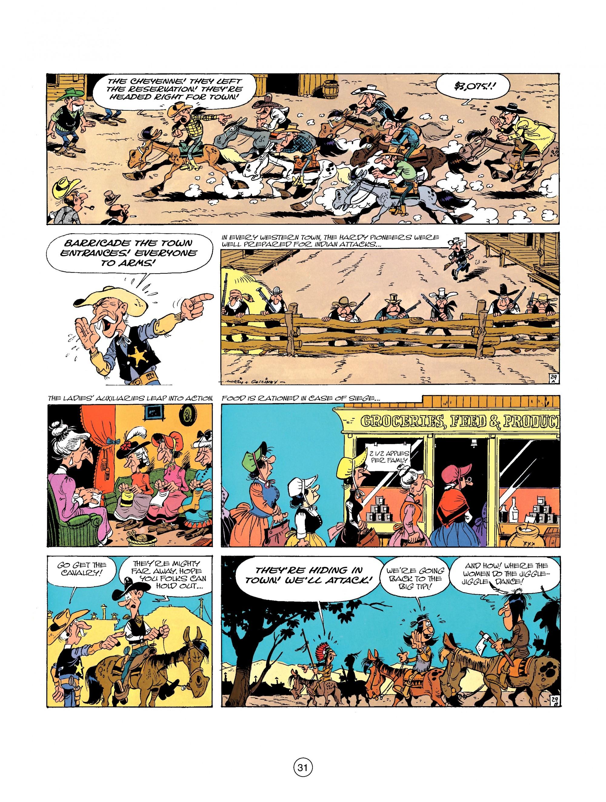 Read online A Lucky Luke Adventure comic -  Issue #26 - 31