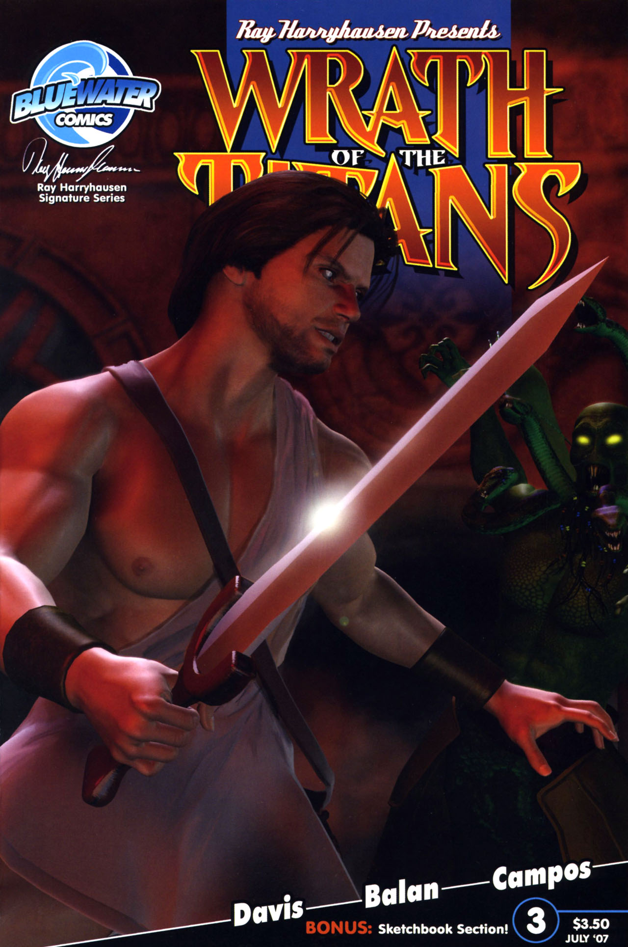 Read online Wrath of the Titans comic -  Issue #3 - 1