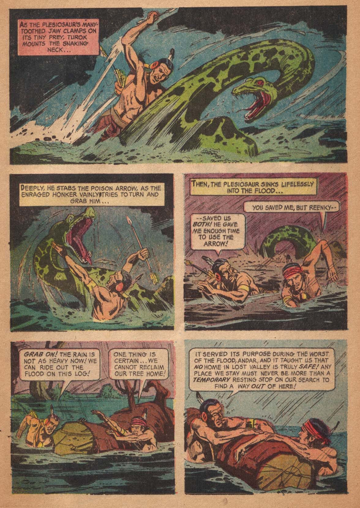 Read online Turok, Son of Stone comic -  Issue #47 - 17