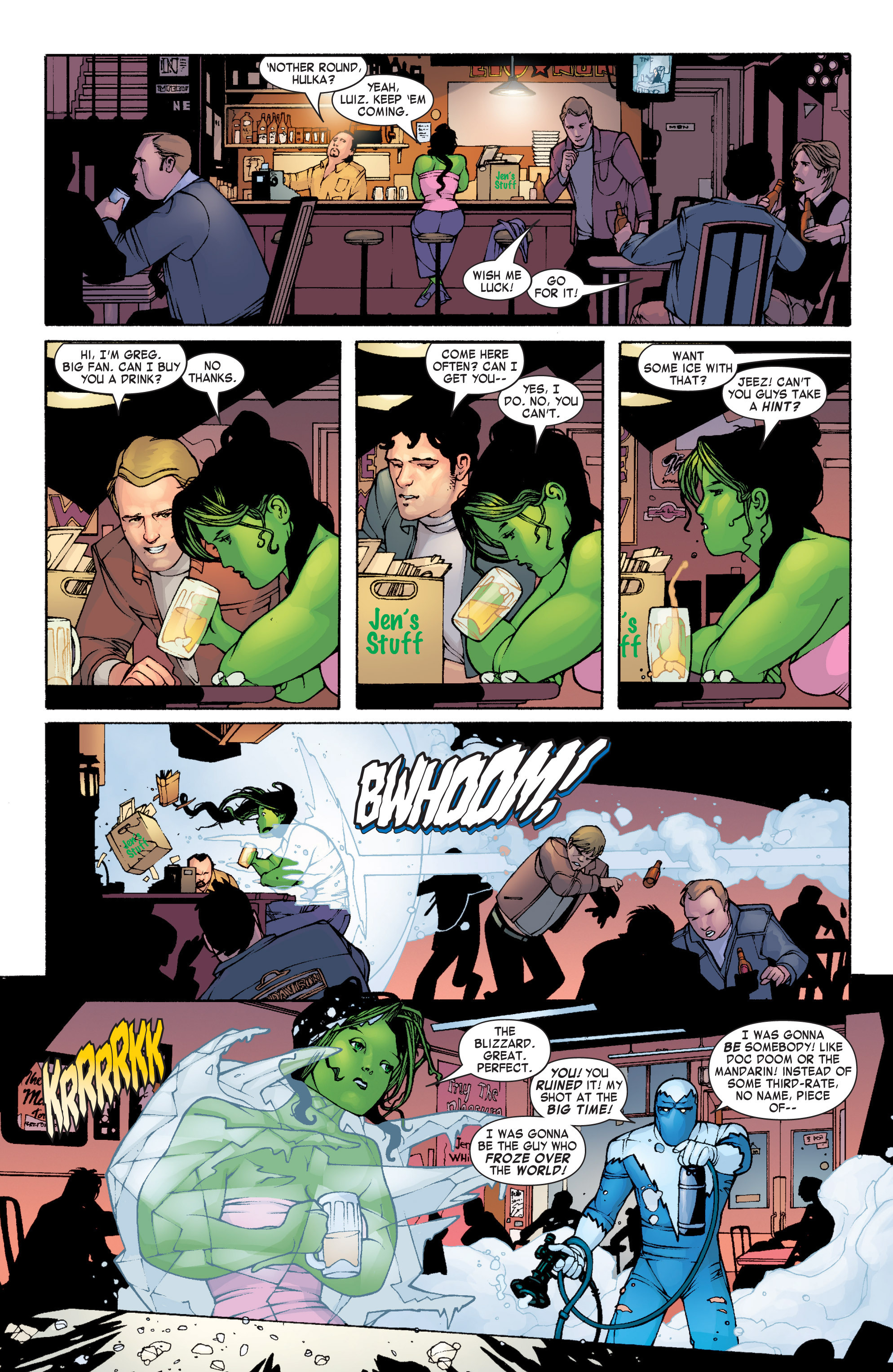Read online She-Hulk (2004) comic -  Issue #1 - 19