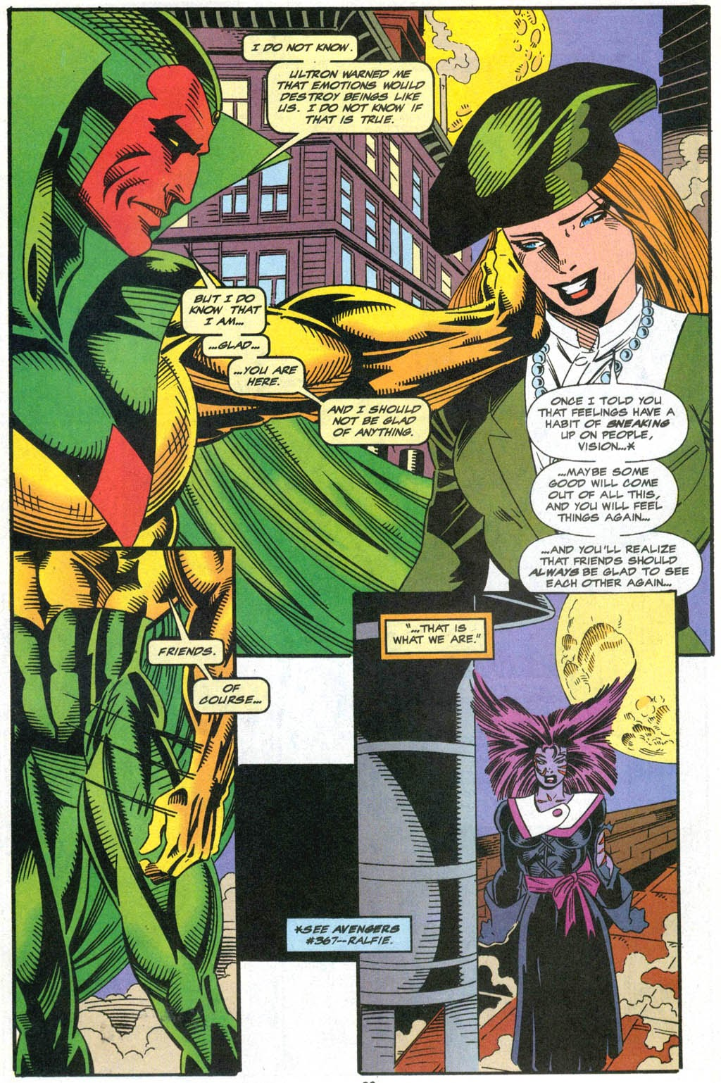 Read online The Vision comic -  Issue #2 - 17
