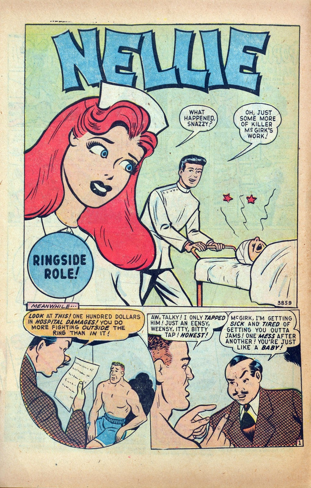 Read online Nellie The Nurse (1945) comic -  Issue #24 - 10
