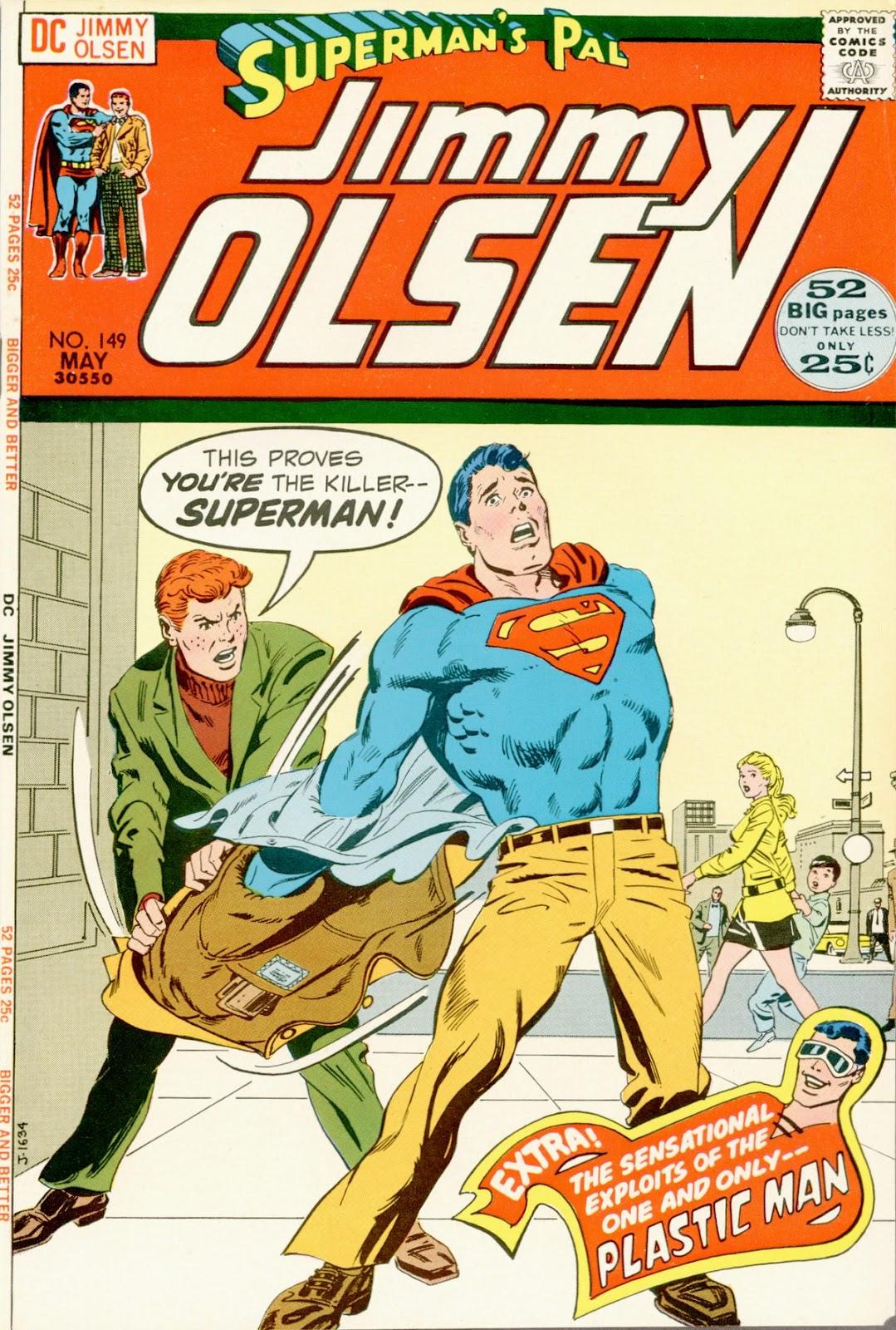 Supermans Pal Jimmy Olsen (1954) 149 Page 1