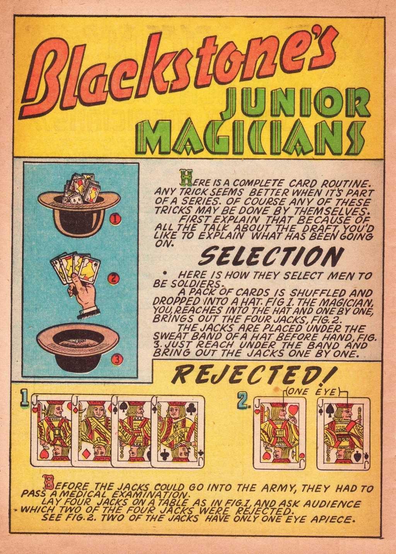 Read online Super-Magician Comics comic -  Issue #2 - 42